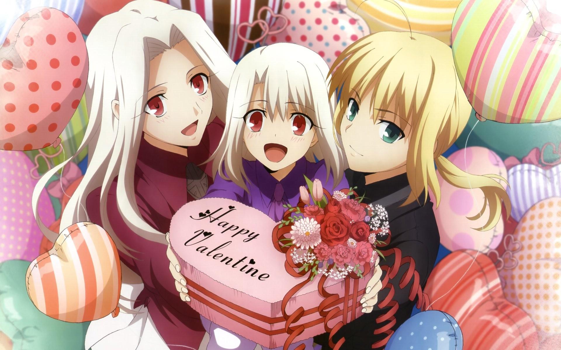 Картинки аниме день влюбленных