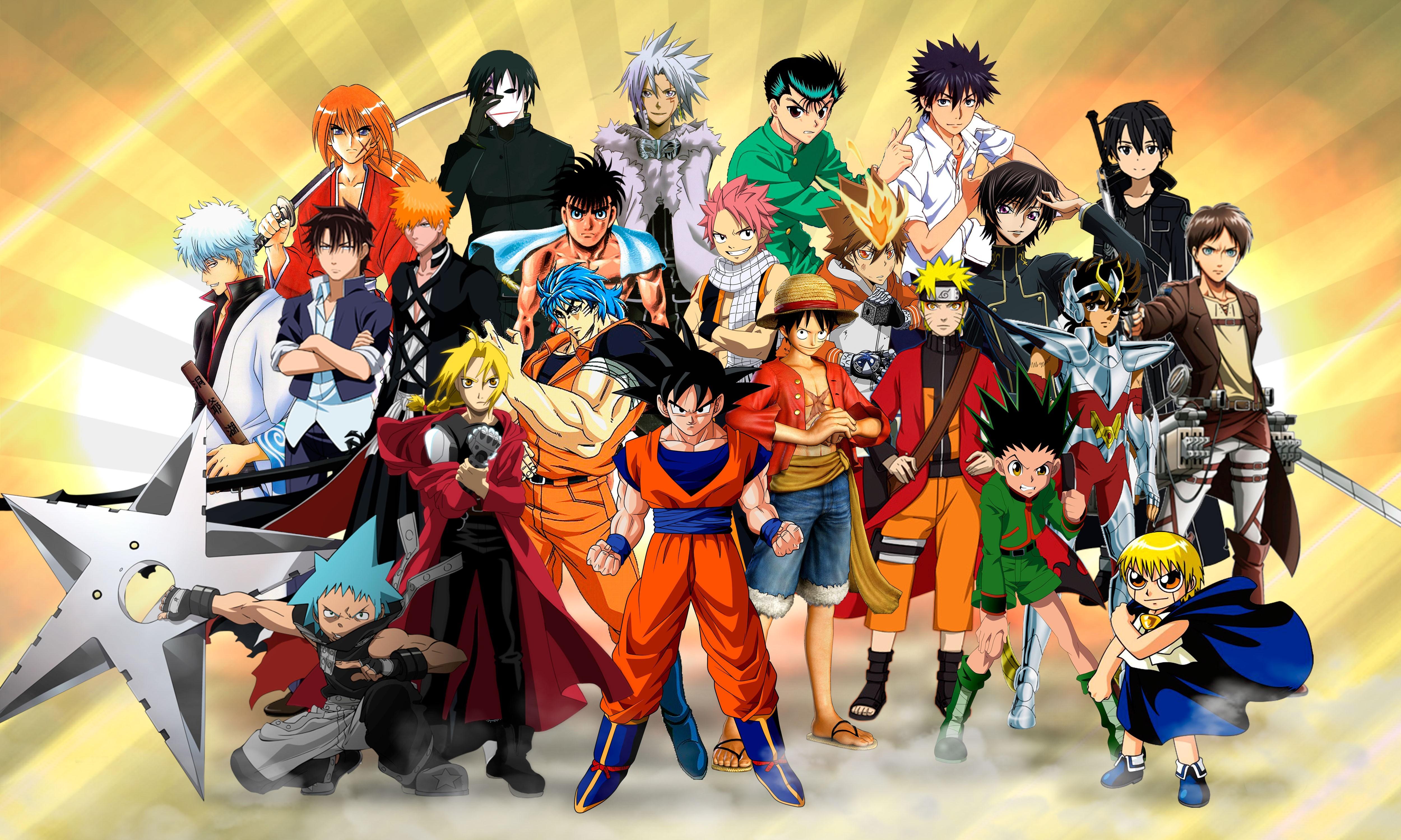 Надписью пожеланий, картинки с персонажами аниме