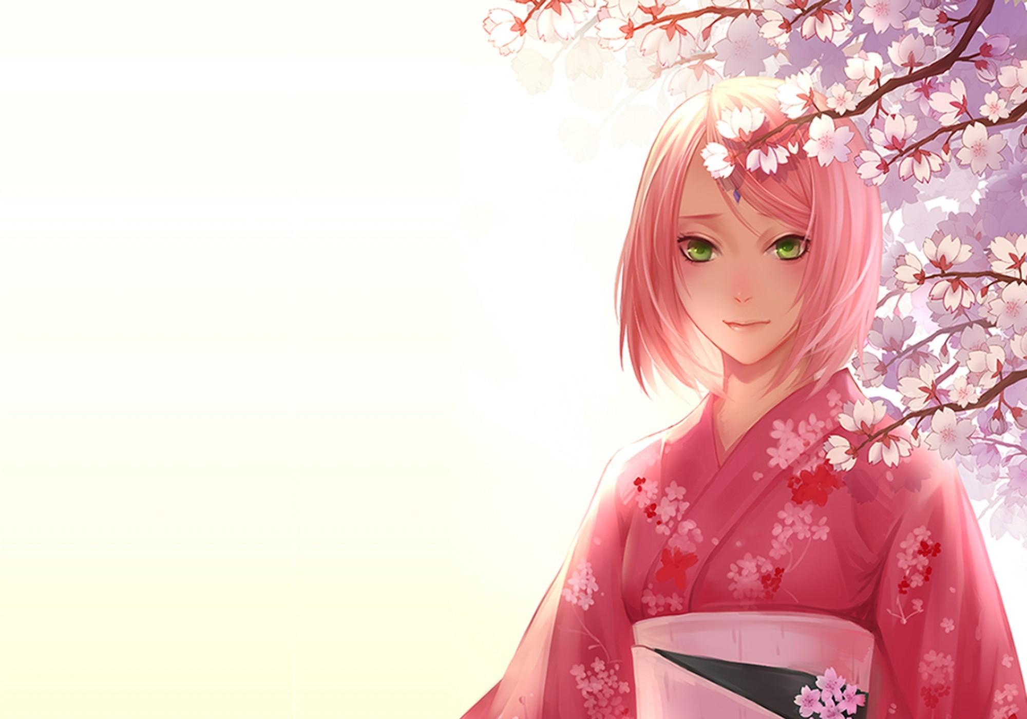 sakura wallpaper girls anime - photo #4