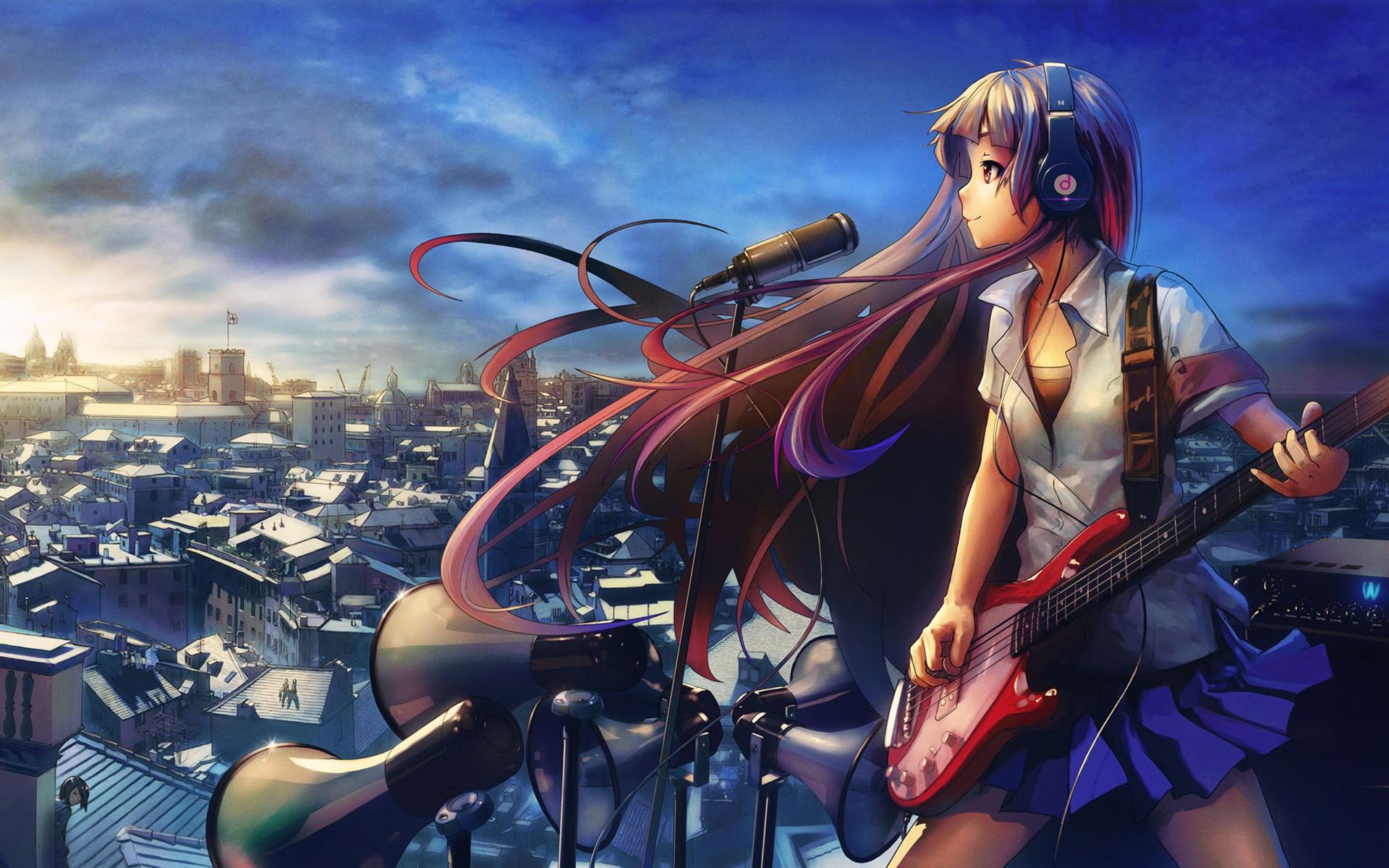 Картинки аниме мелодия