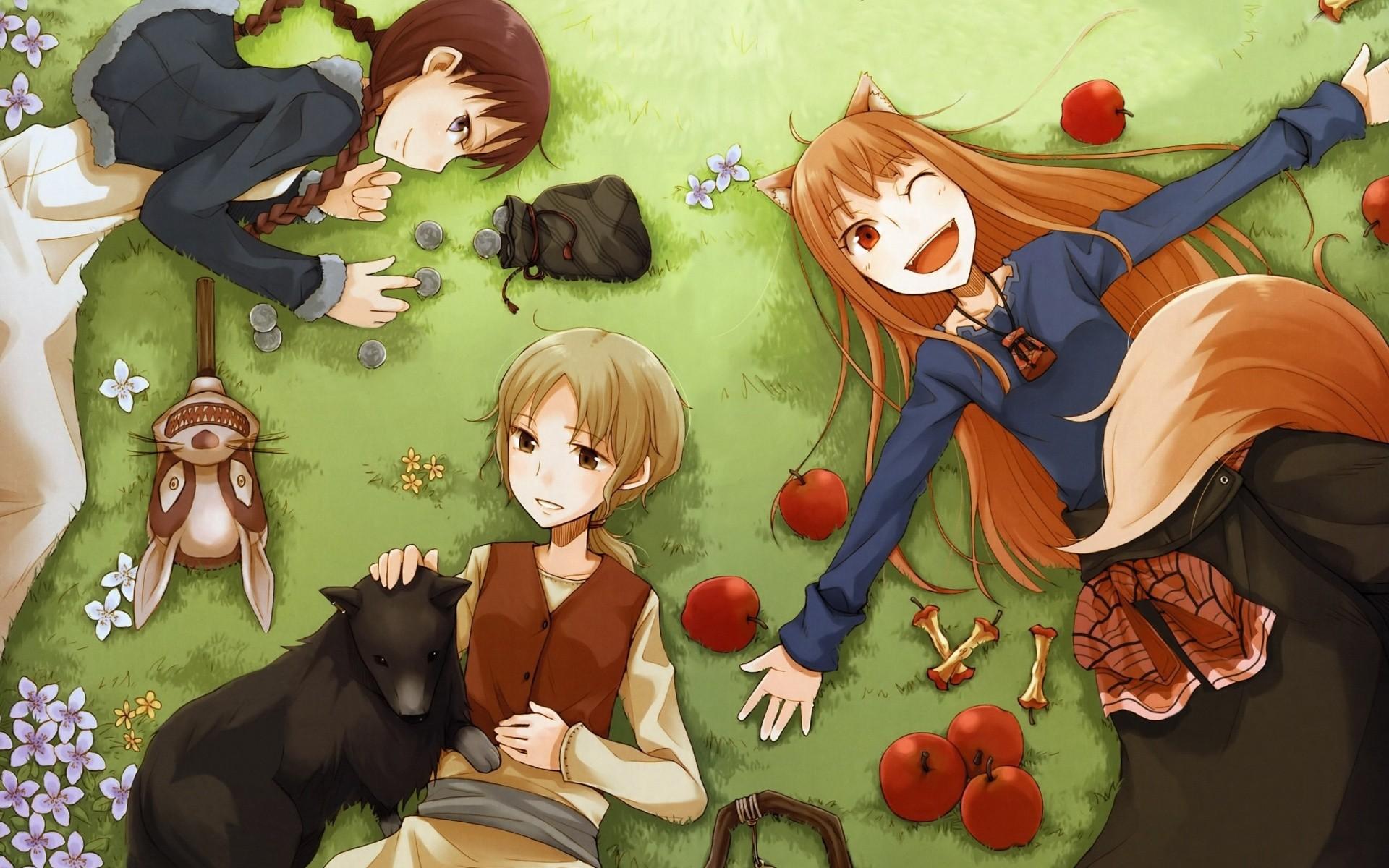Картинки волчица и пряности любовь
