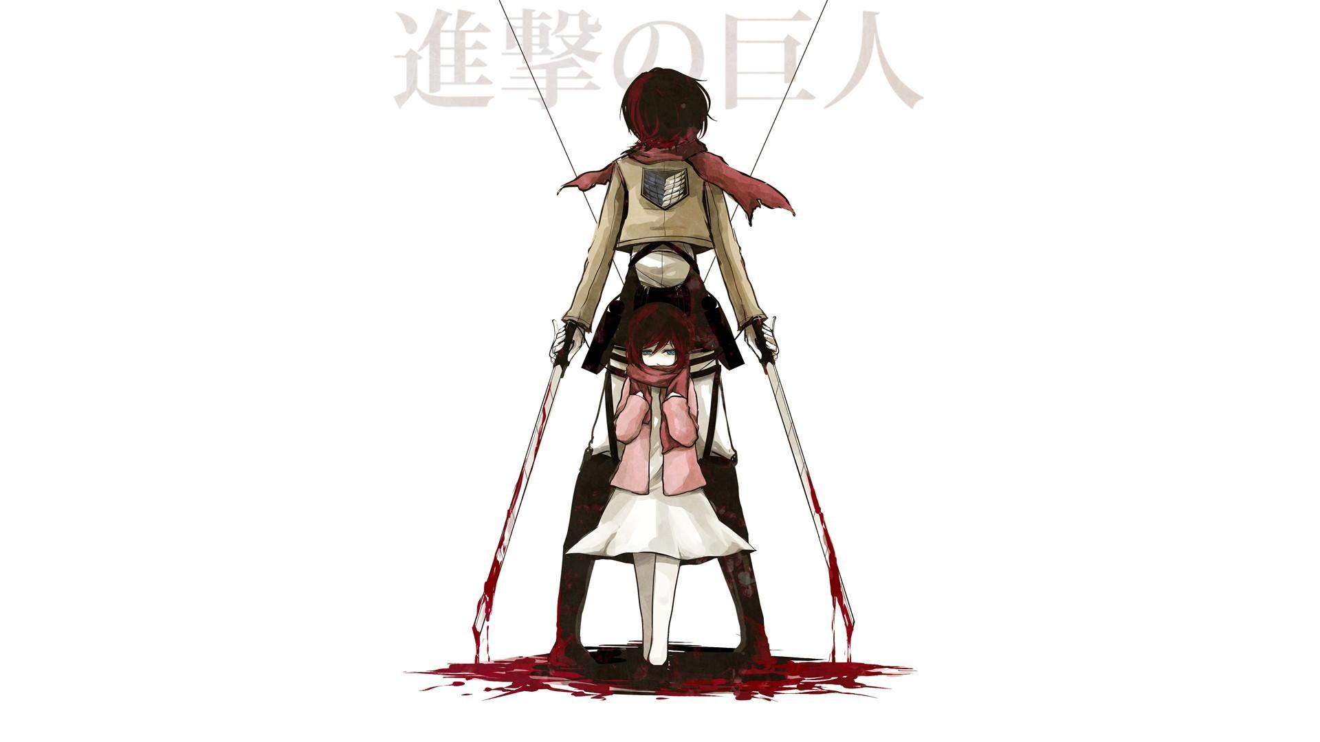 Japanese Anime Shingeki No Kyojin Desktop Wallpapers 1920x1080