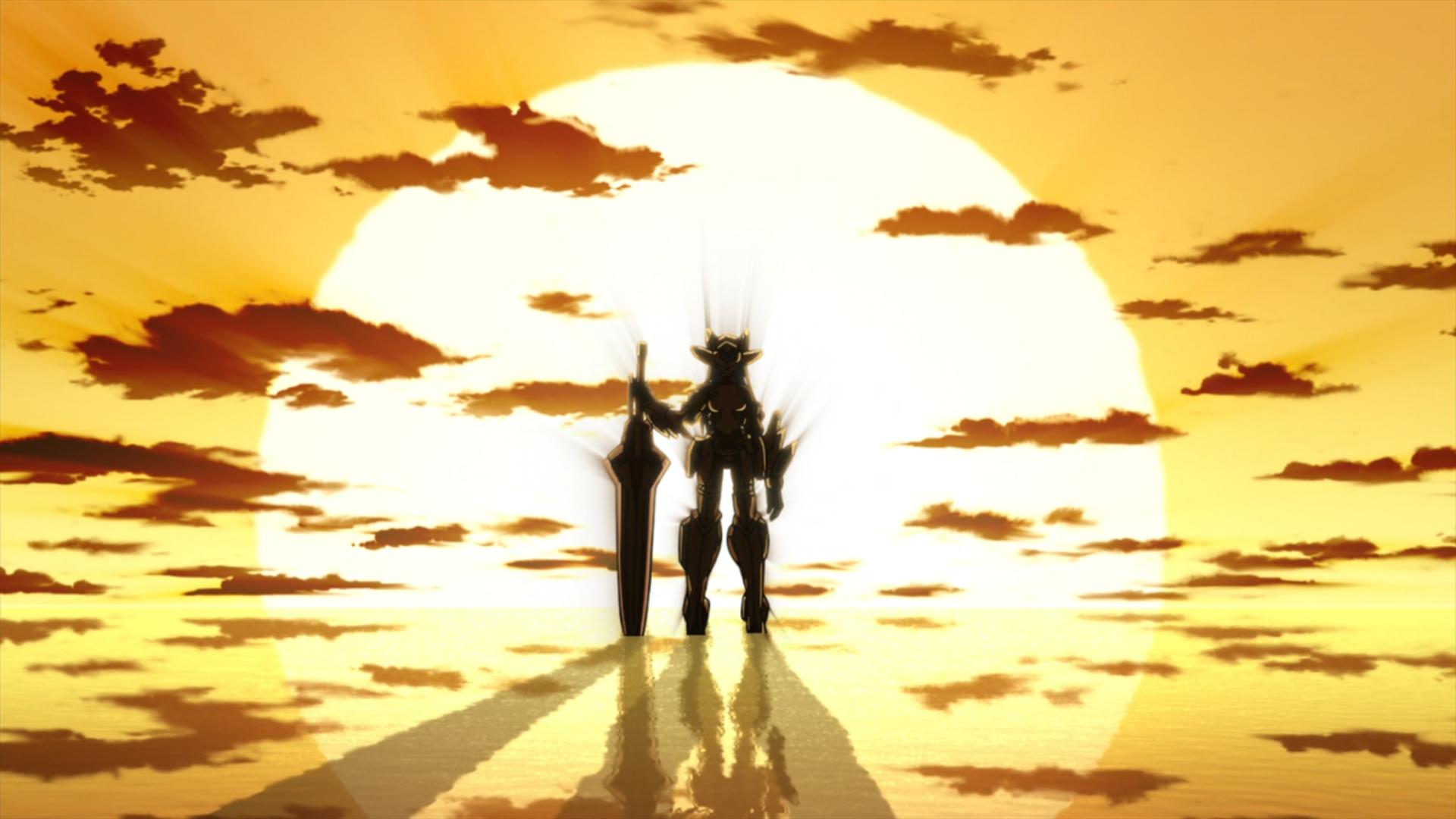 картинки на аниме бесконечные небеса