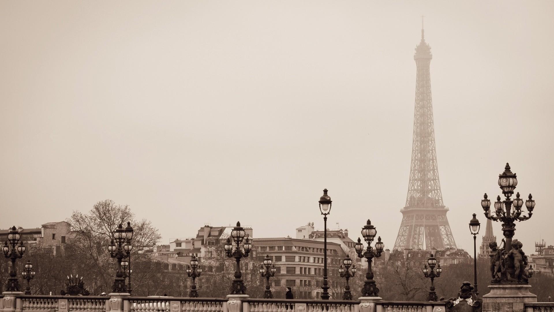 Black And White Photos Of Paris