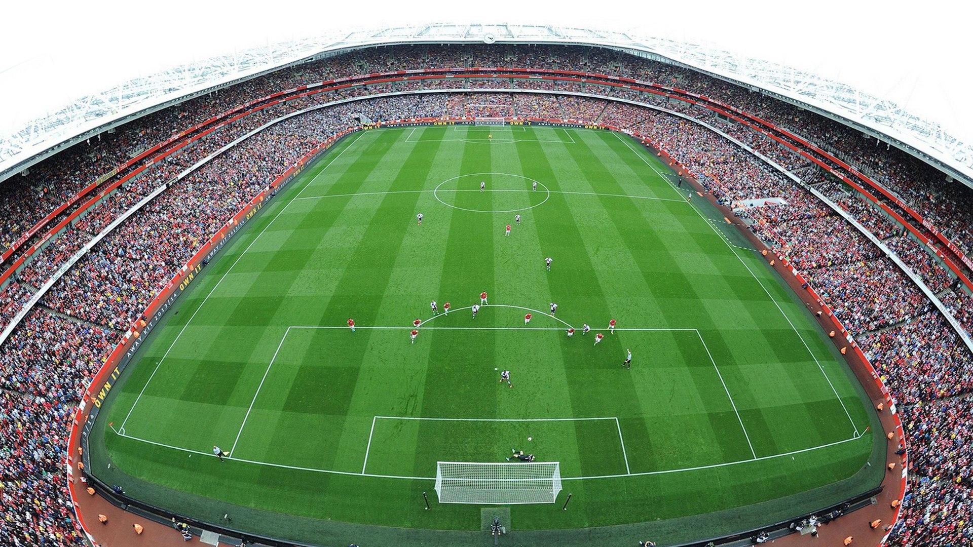 Открытки с видом стадиона, открытки