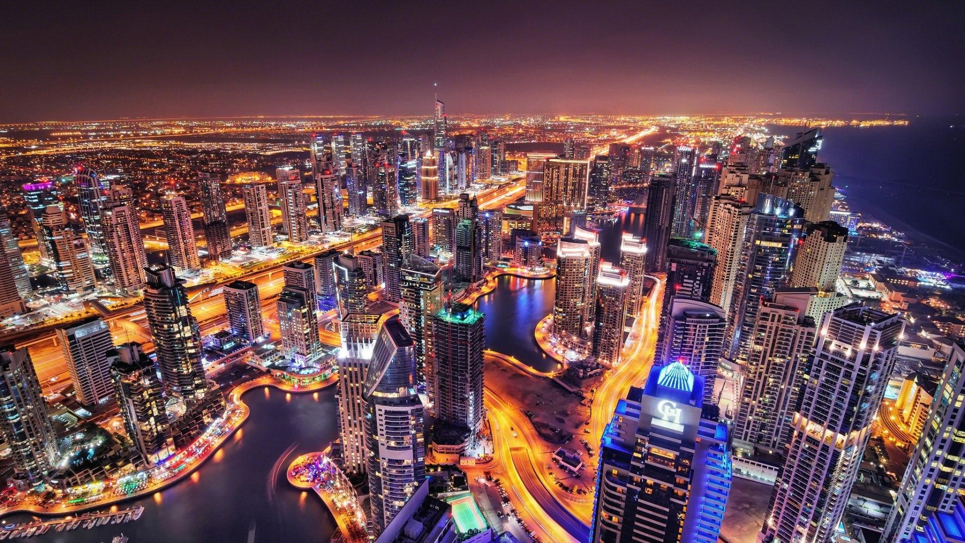 Must see Wallpaper Night Dubai - Cities_Night_lights_of_Dubai_094294_  Picture-814728.jpg