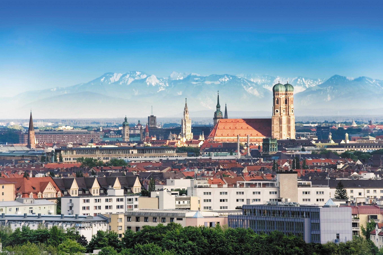 Город мюнхен обои для рабочего стола