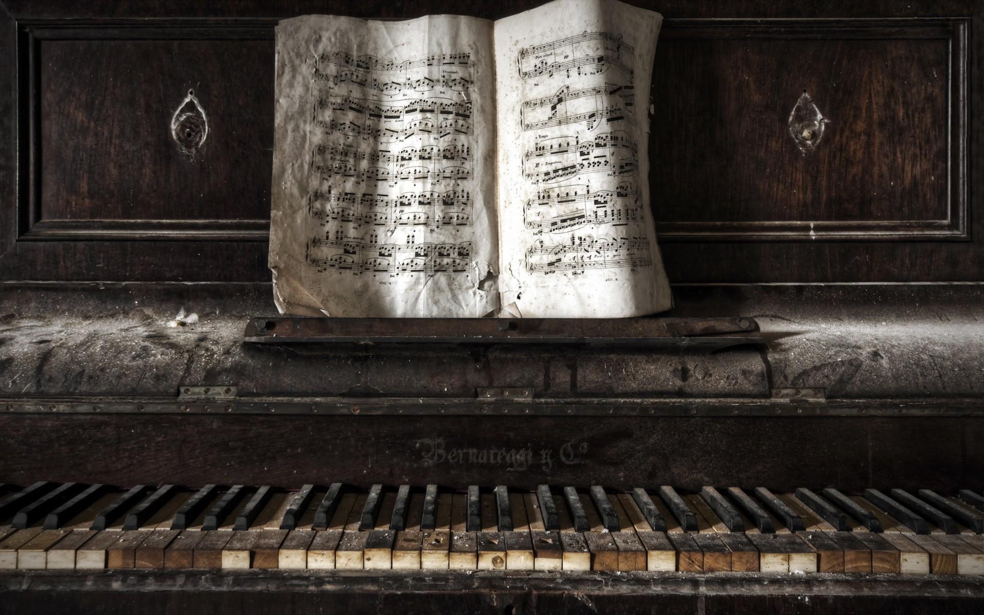 photo old piano - photo #14