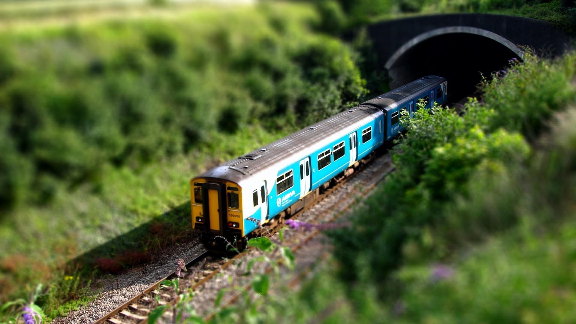 Фото ухоженных поезд
