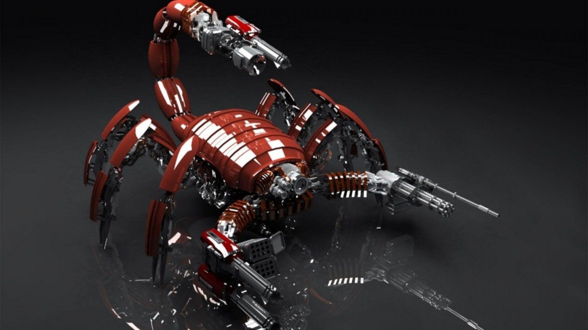 Фото скорпиона на рабочий стол