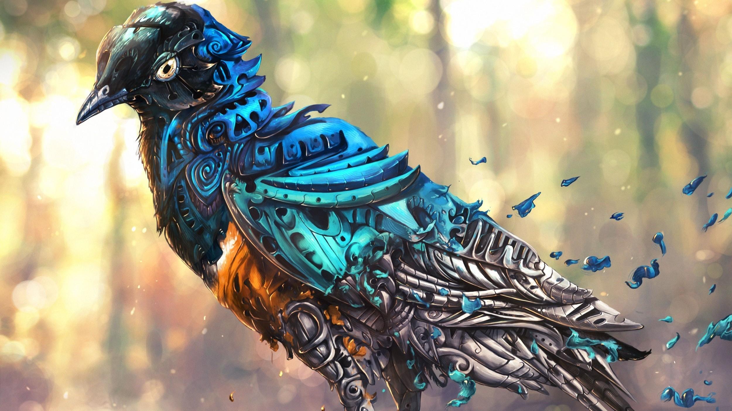 Крутые птицы картинки