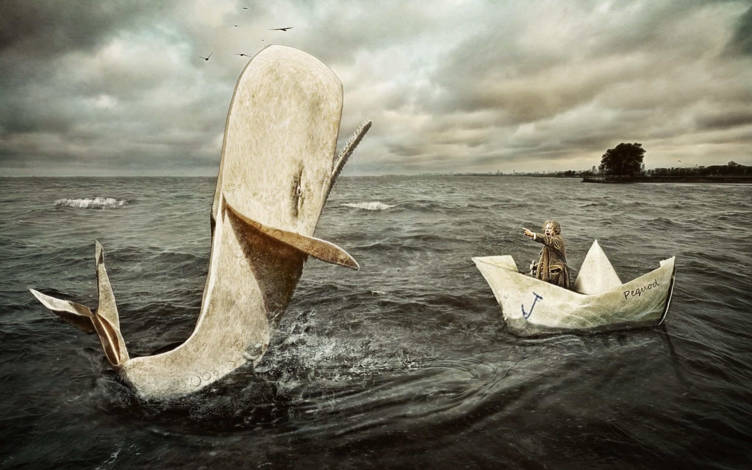 большие киты целуют твою лодку