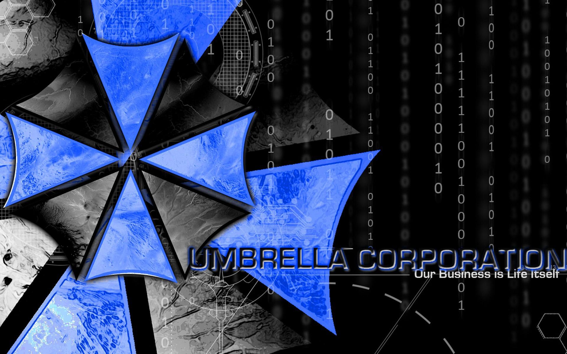Blue Black Umbrella Corporation Embrella Wallpapers And Images