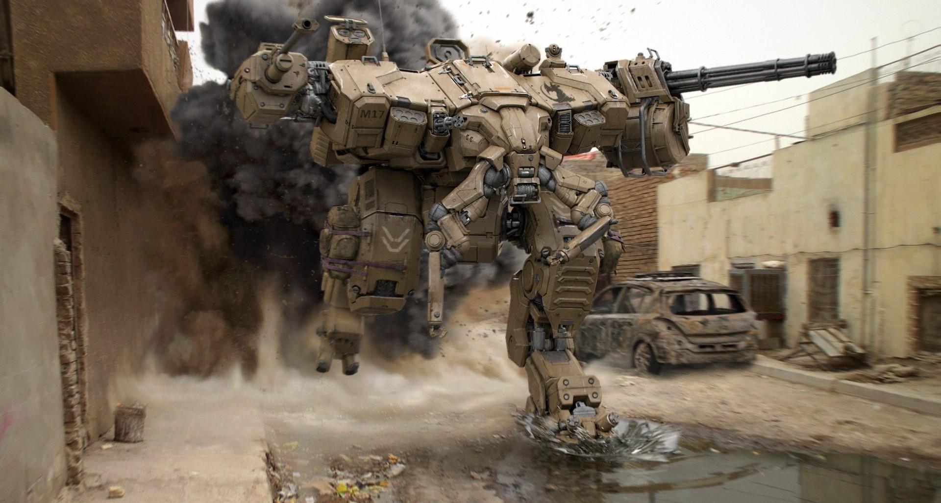 смотреть картинки боевых роботов этом