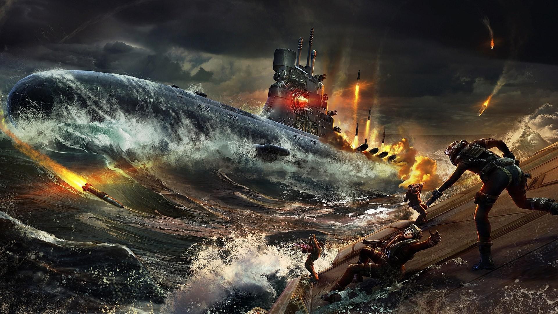 подводная лодка апокалипсиса