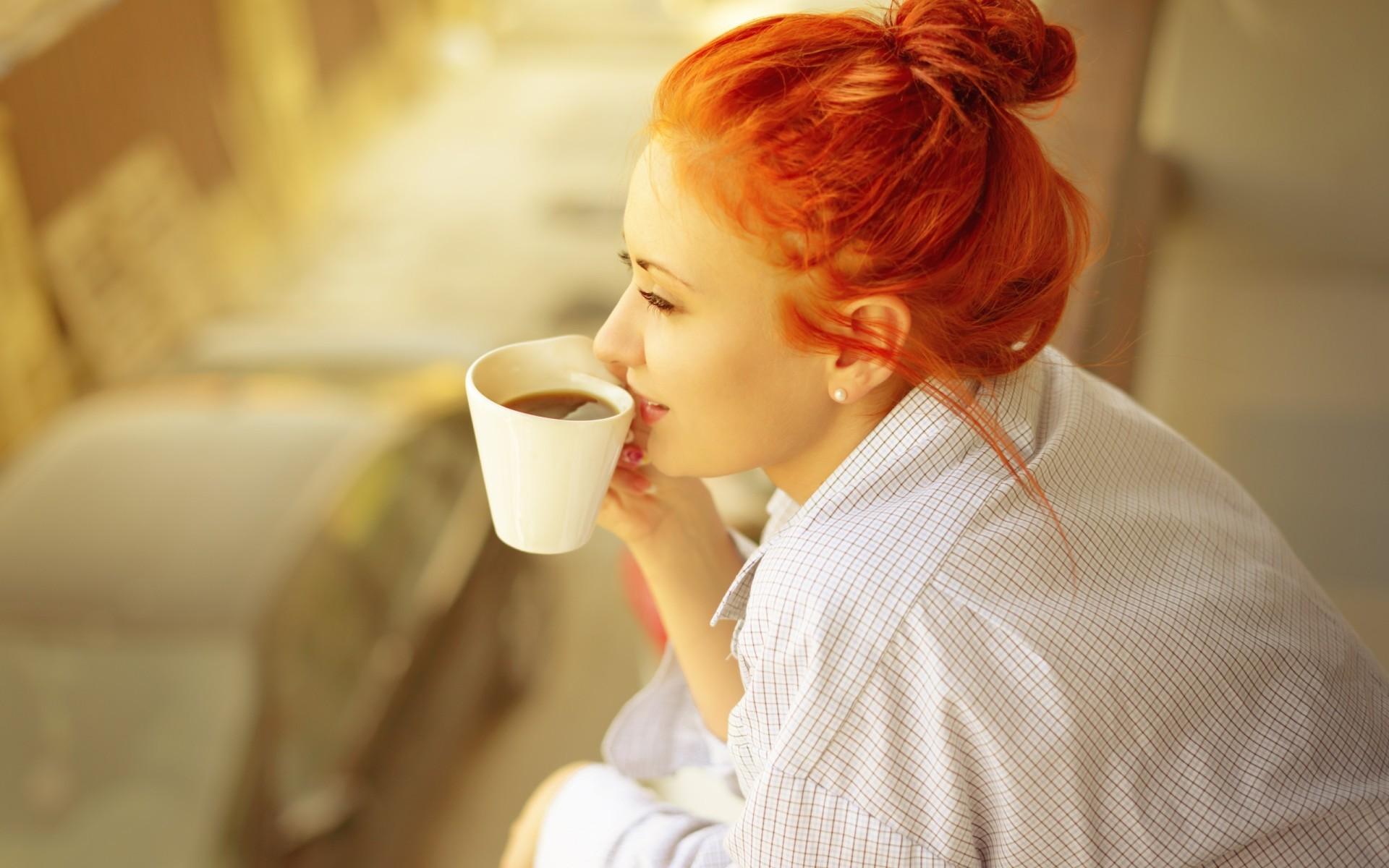 Картинки девочки с чаем