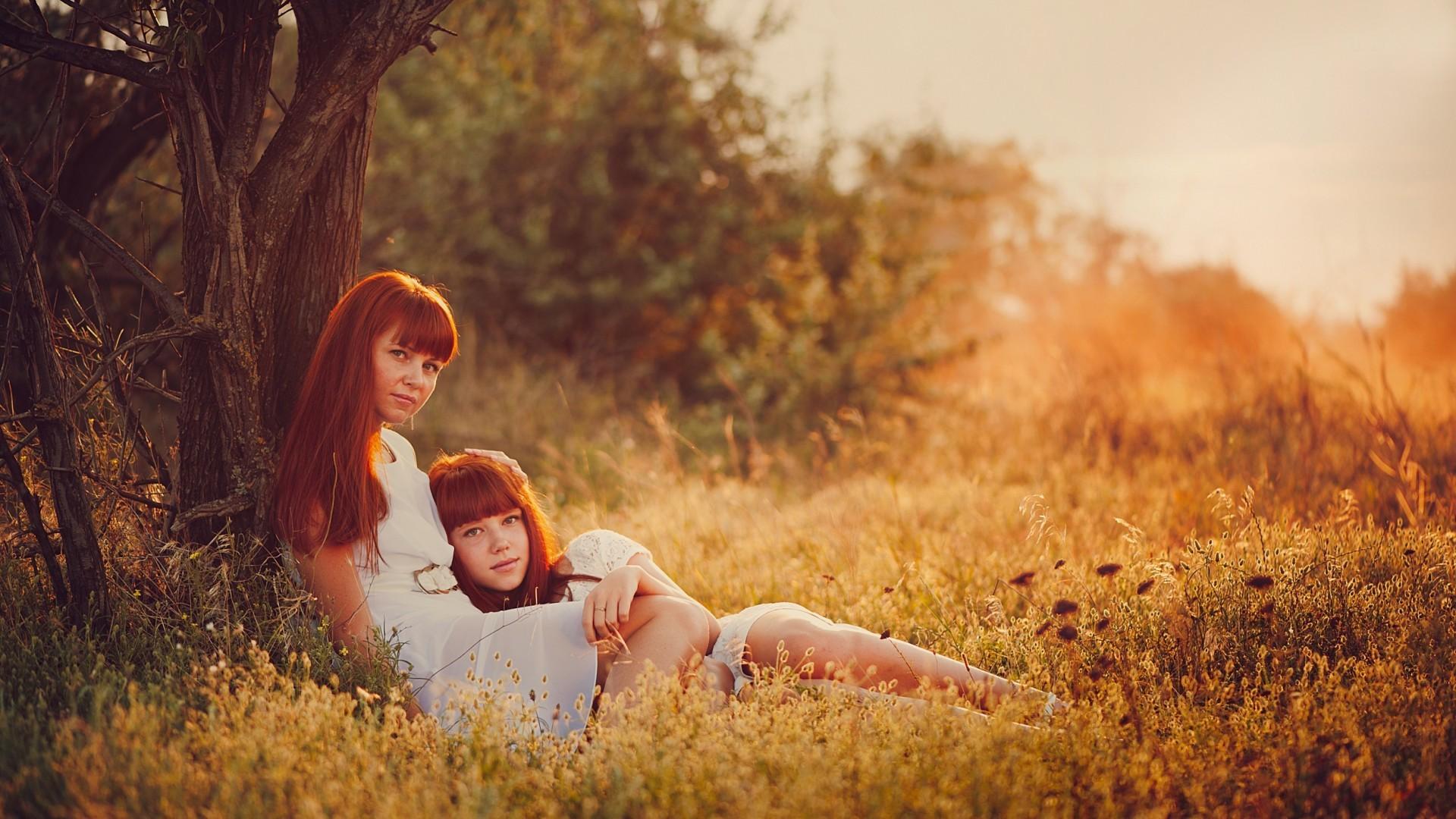Рыжая дочь и 7 фотография