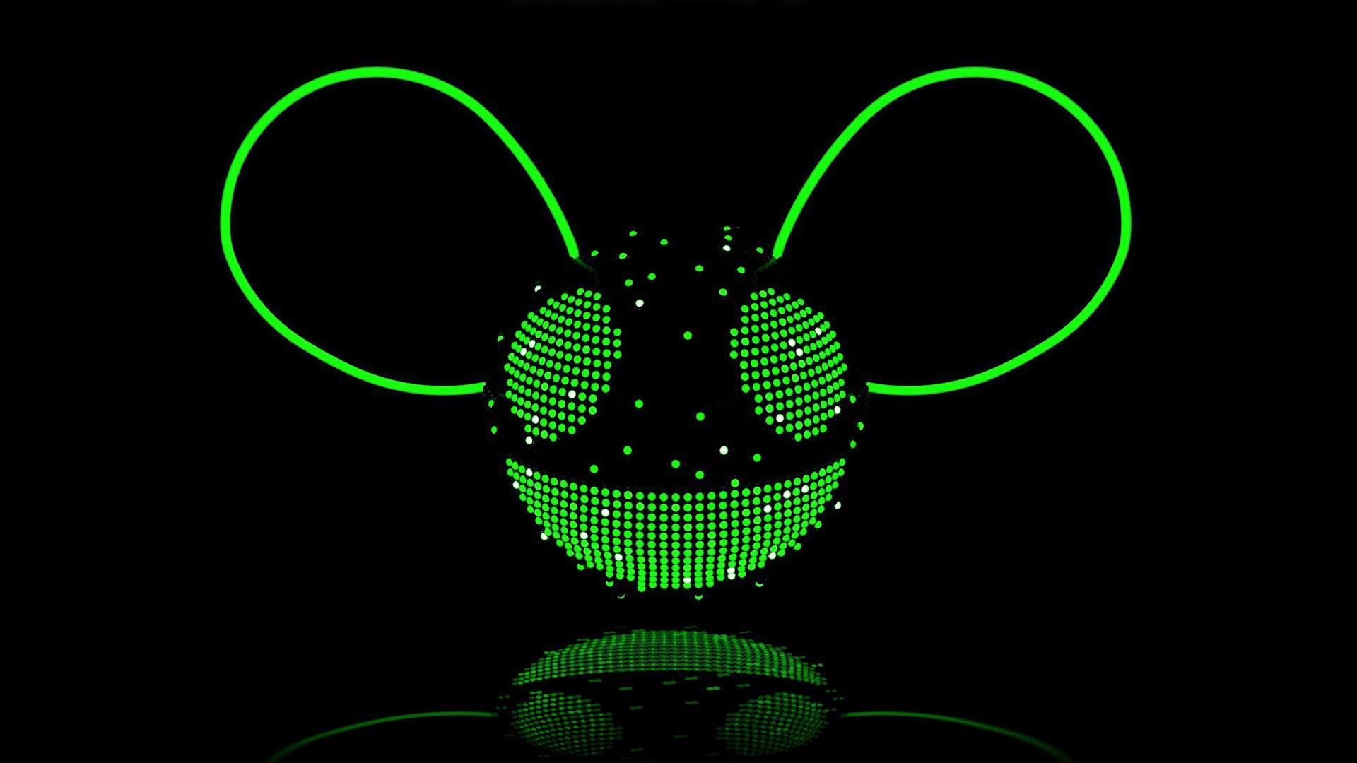 deadmau5 green wallpaper - photo #11