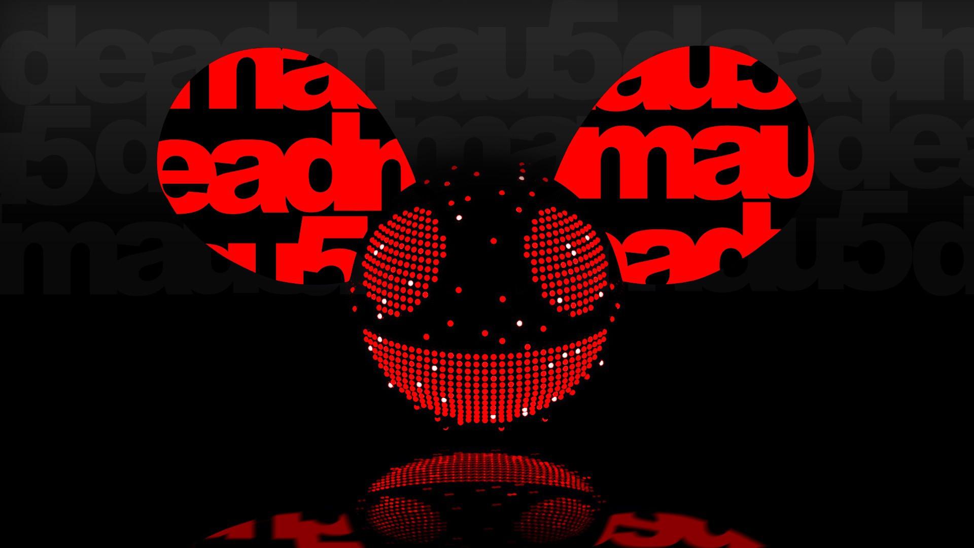 deadmau5 music red wallpaper - photo #35