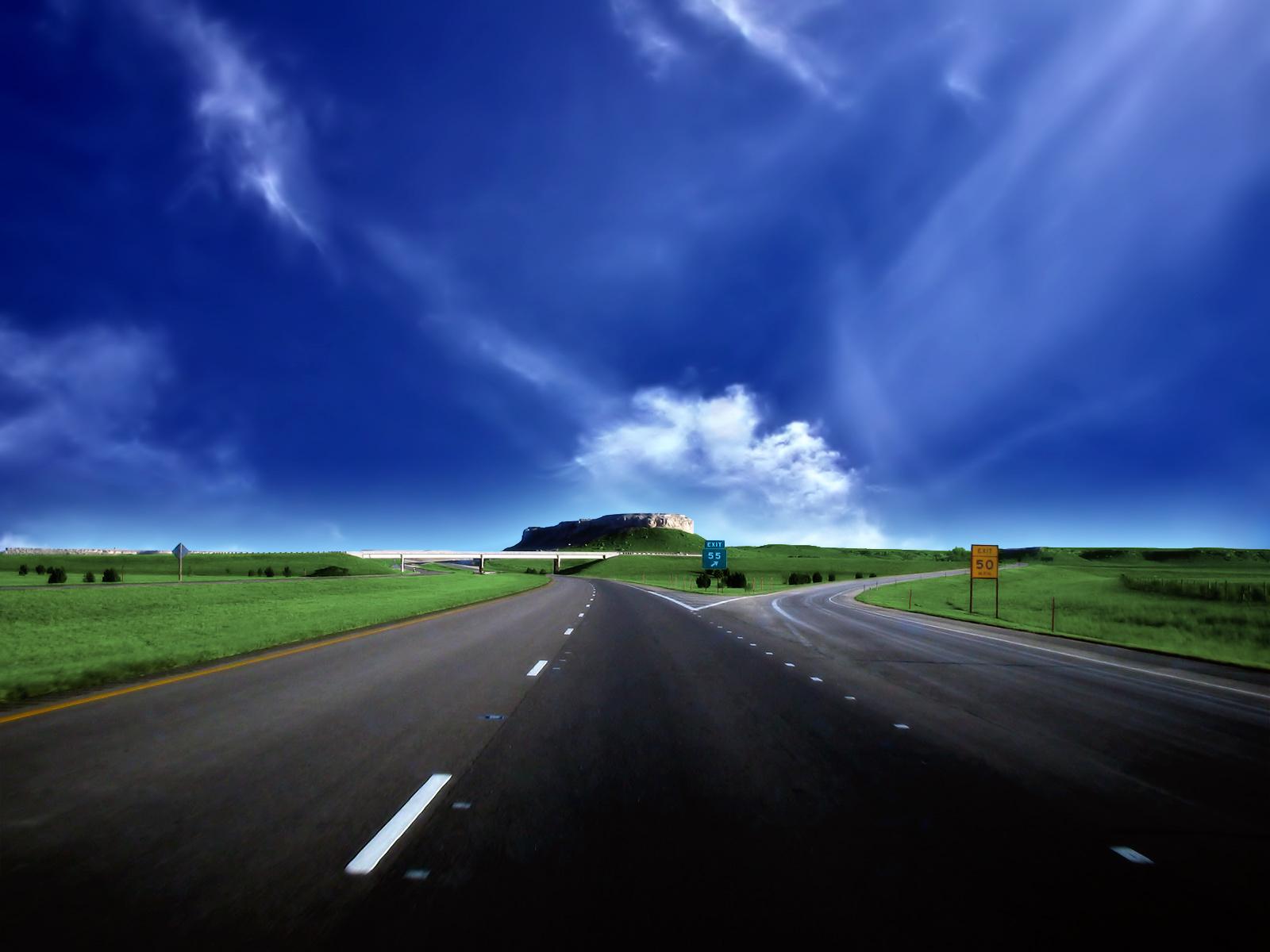 Картинка двух дорог