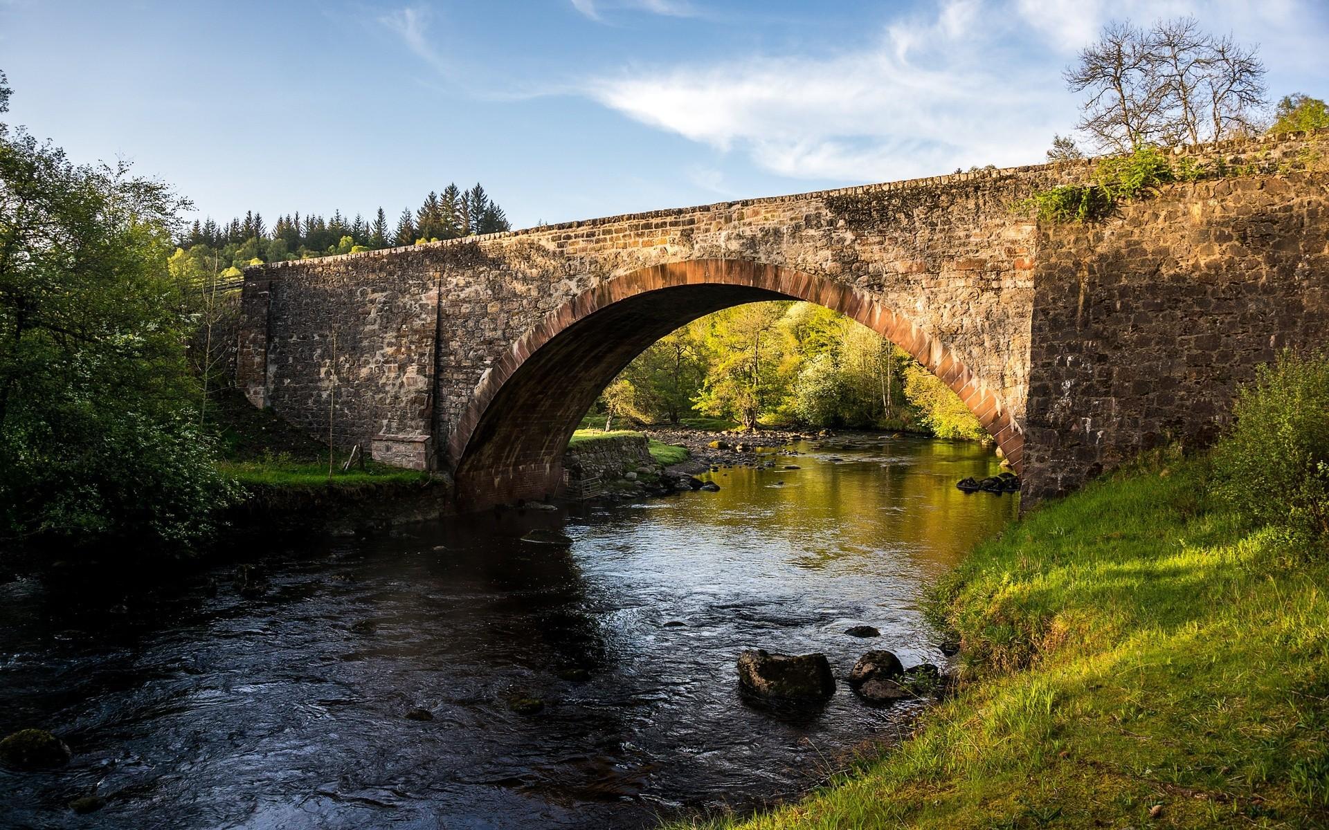 маленькому мост через речку картинка можно