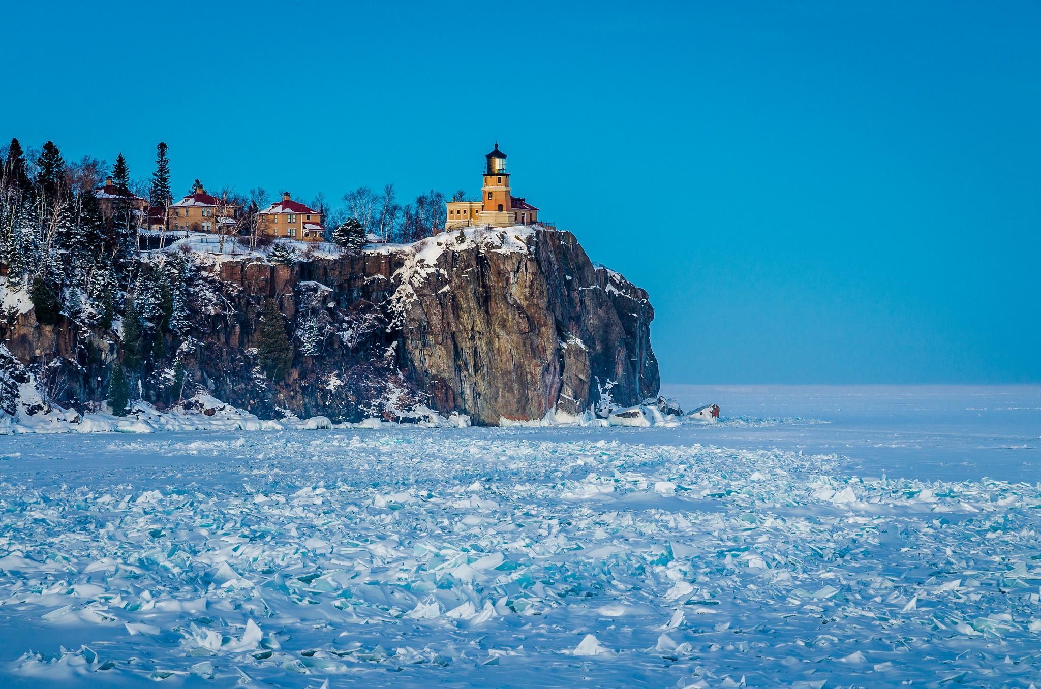 обои море зимой для рабочего стола № 632318 бесплатно
