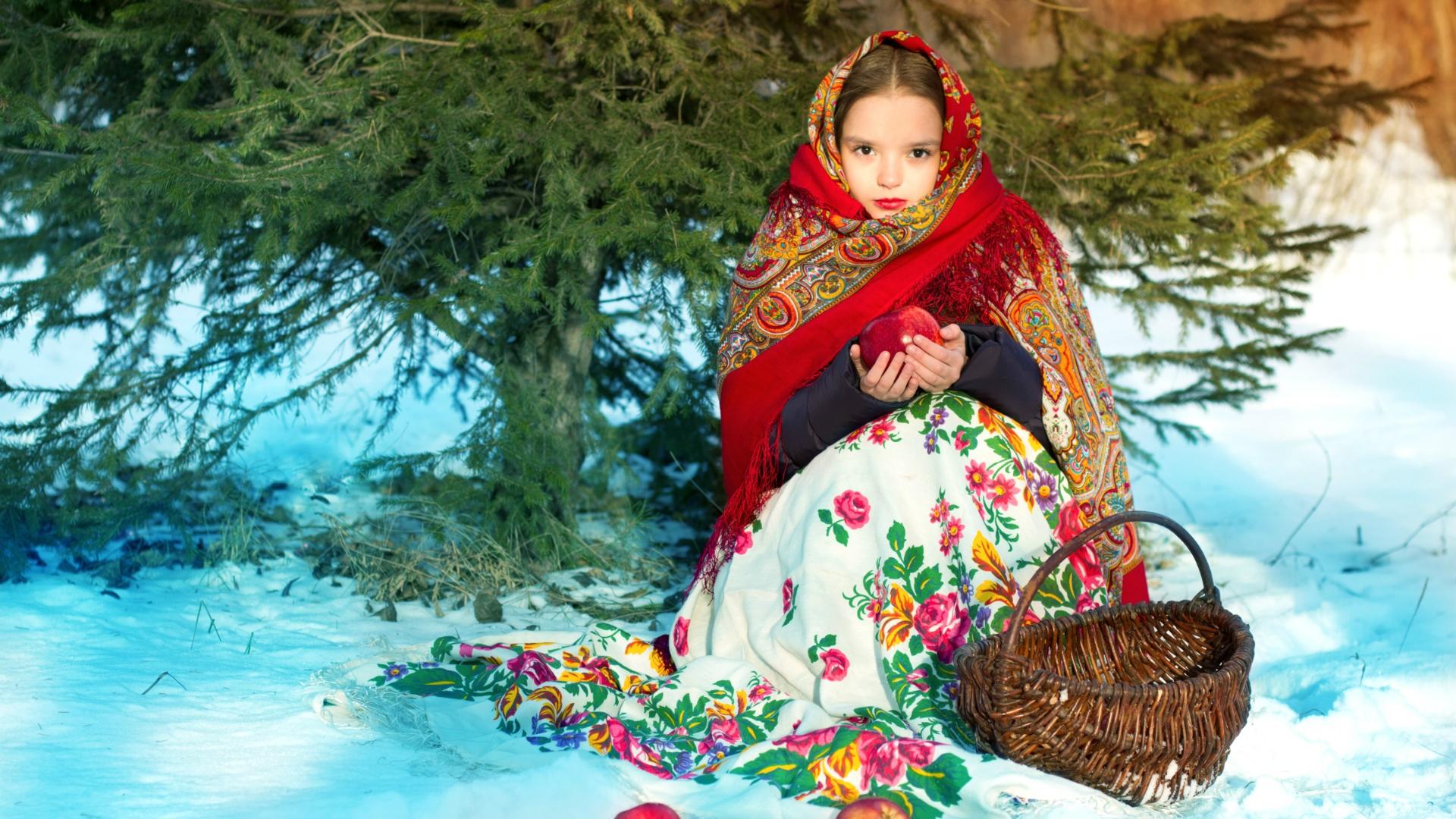 russian beauty wallpaper