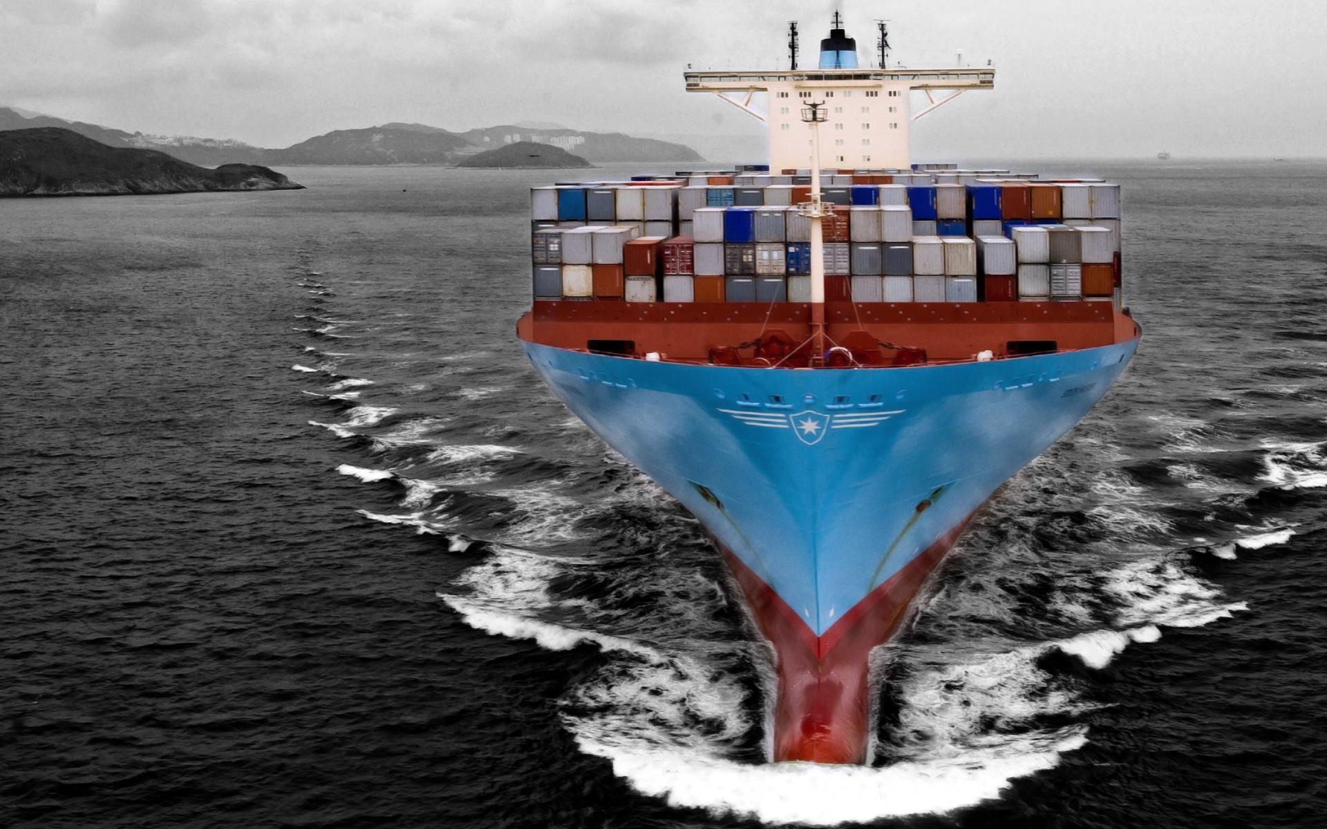 фото обои рабочего стола контейнеровоз судно кому интересен