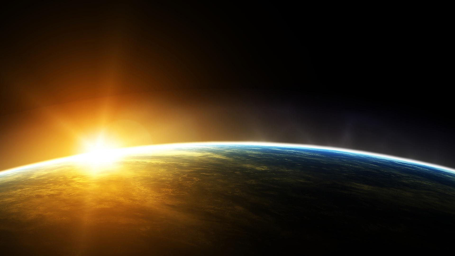 поинтересовались, каком фото восхода с орбиты была очень