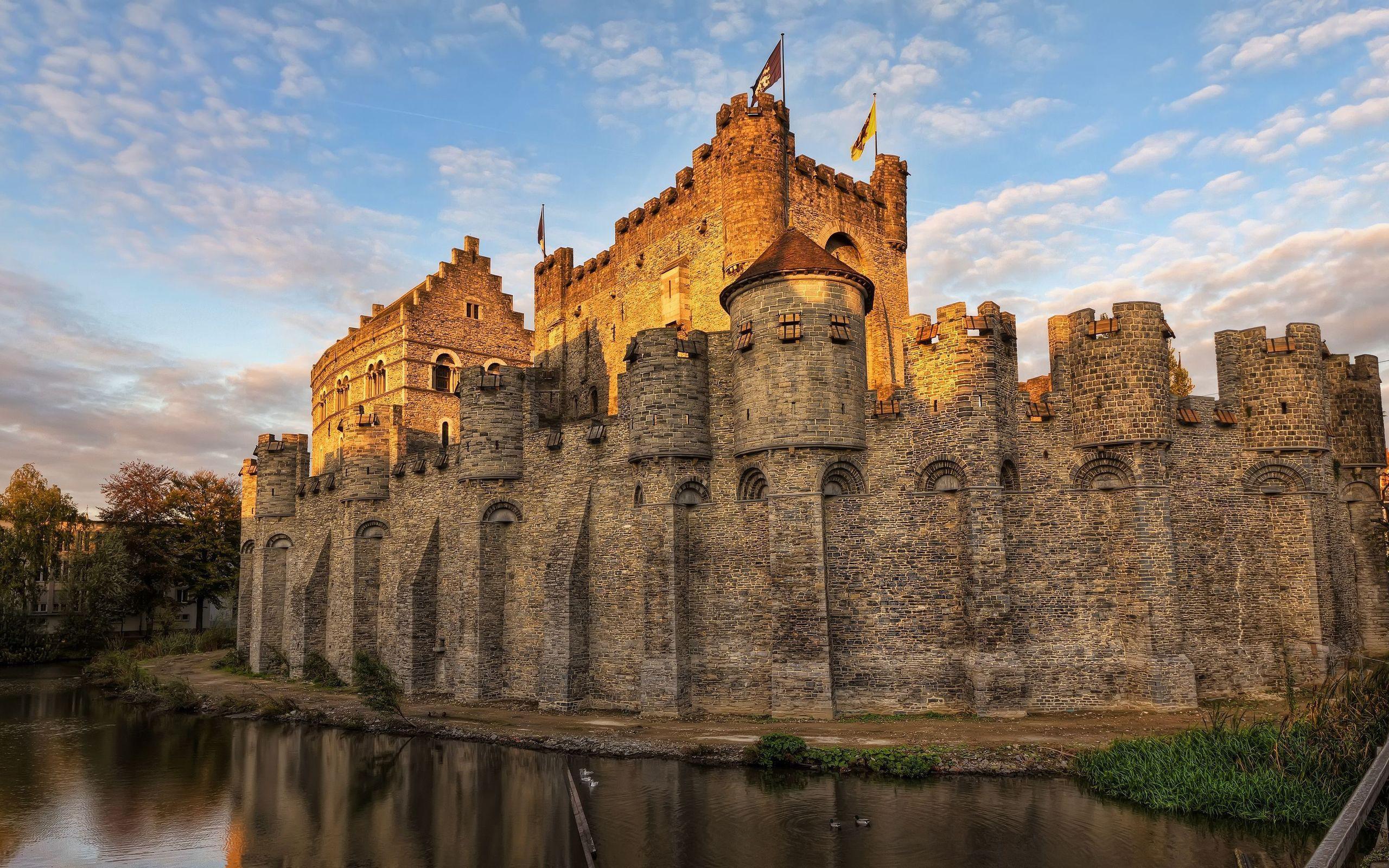 шутил средневековые замки фото картинки ледяная битва, или
