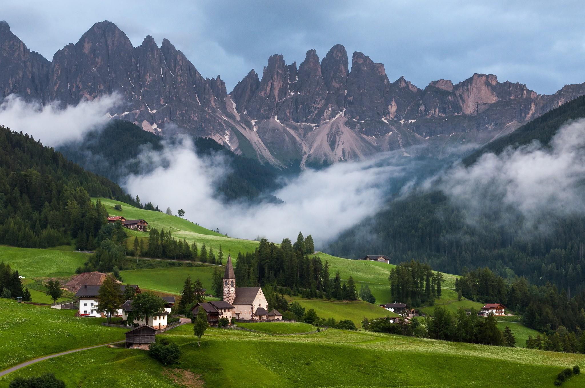 для альпийские горы фото для рабочего стола современном мире