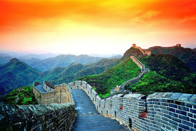 красивые фото китайской стены видимо окончив