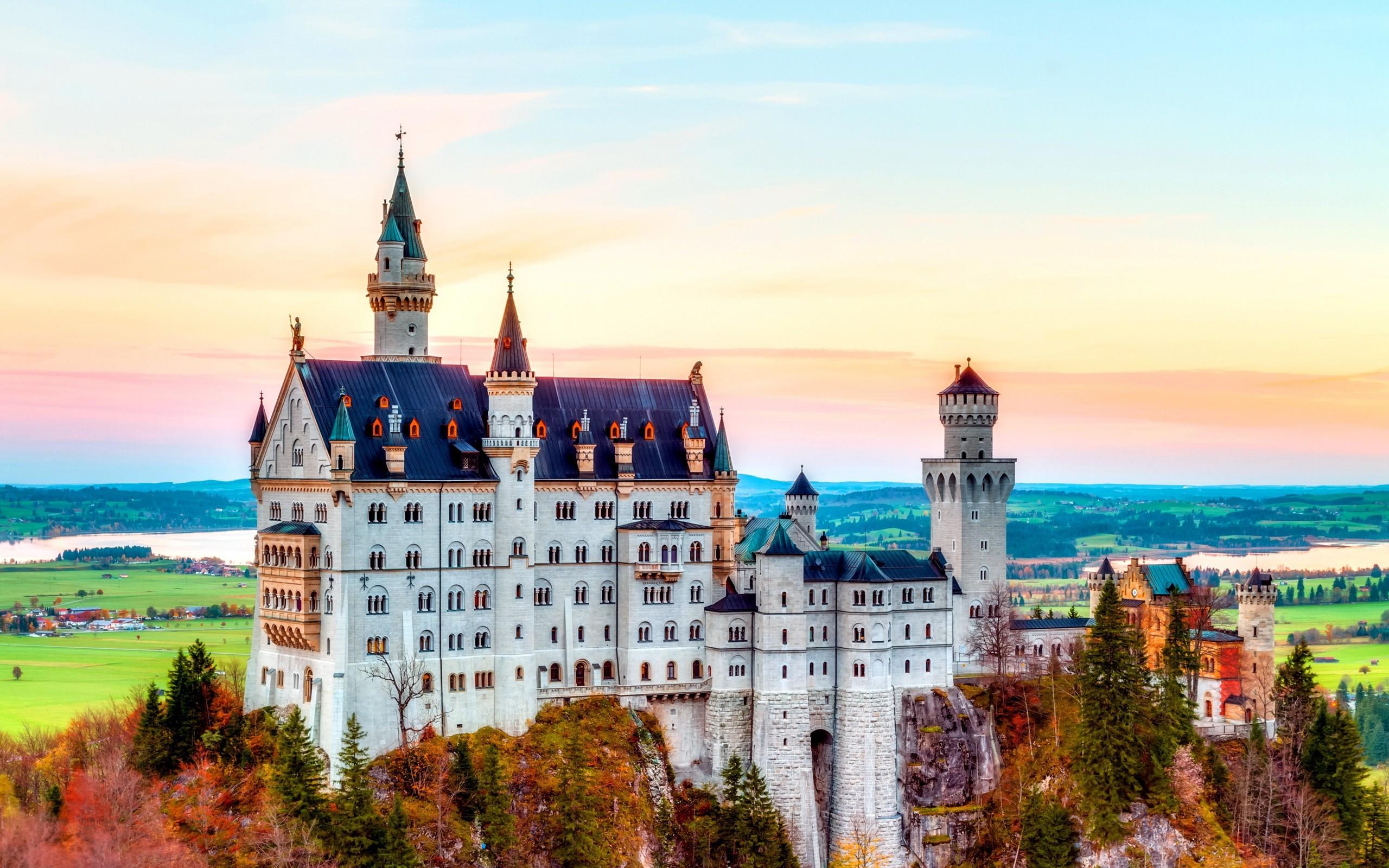 Самый красивый замок в мире фото