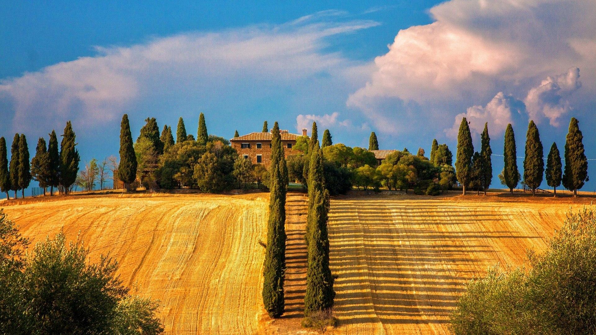 Фото тосканы италия открытки