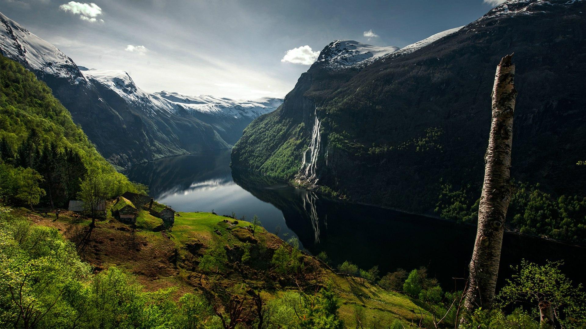 Норвегия 2560x1440  обои на рабочий стол