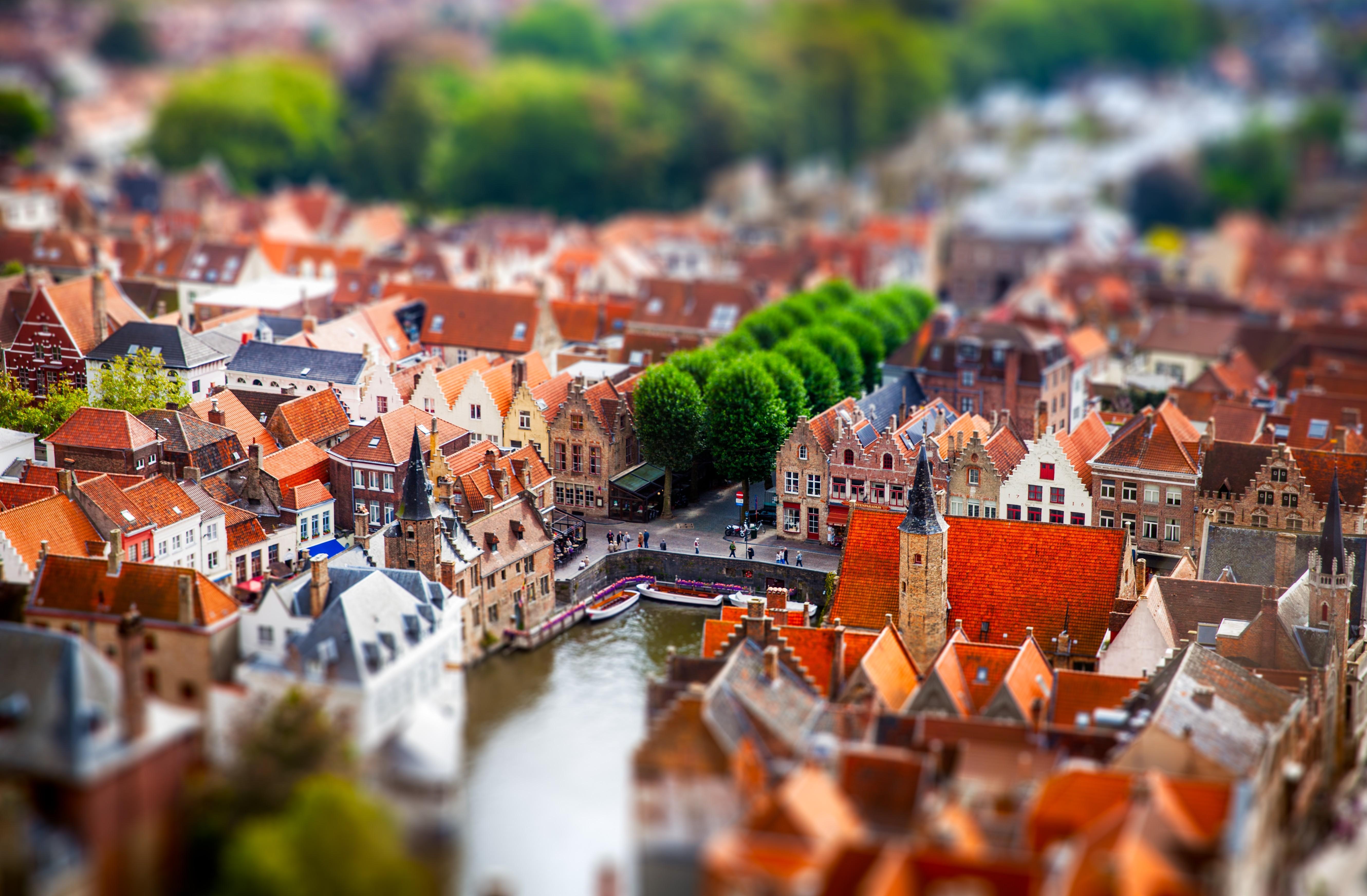 приписывают миниатюрные улицы и города фото это