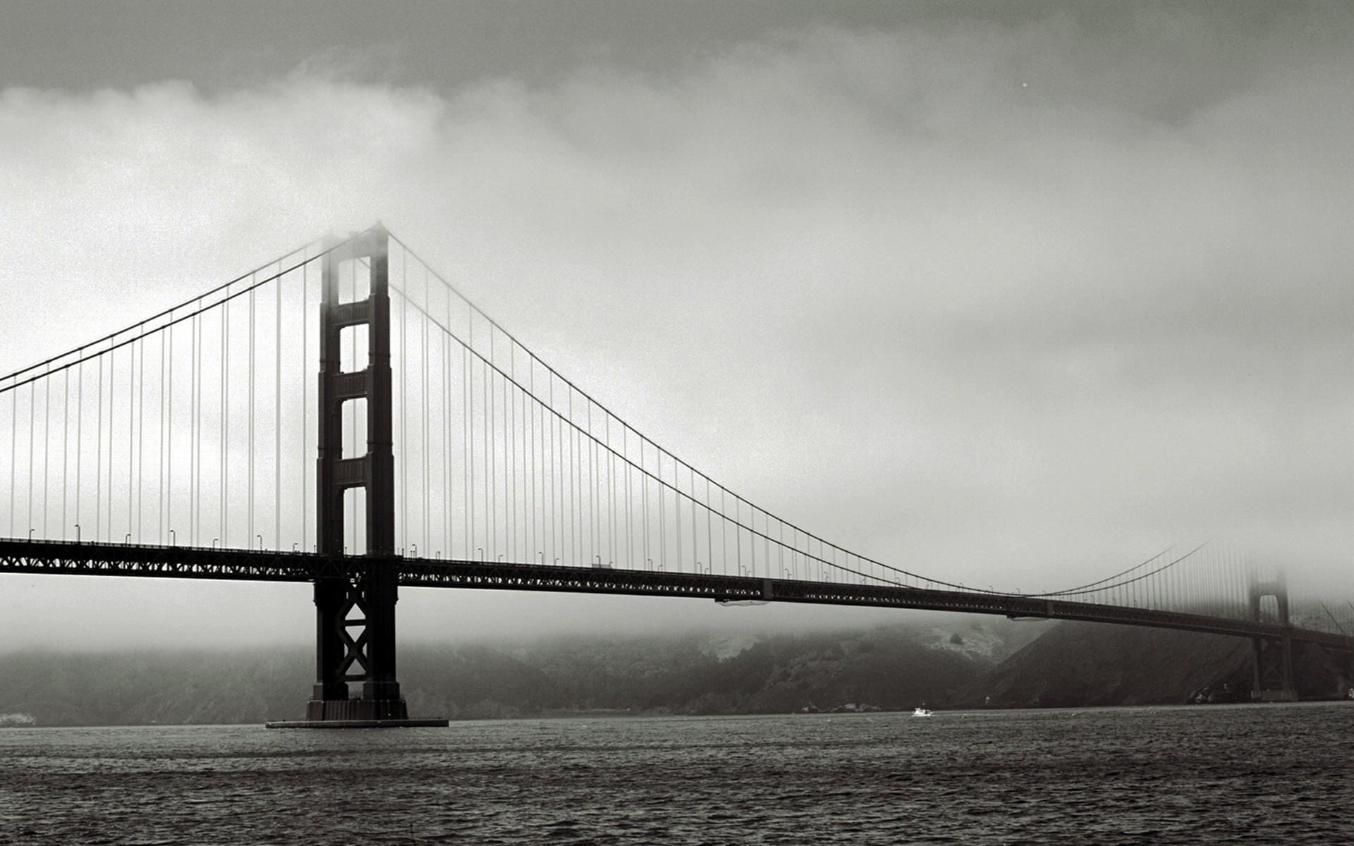 The Famous Golden Gate Bridge Old Photos