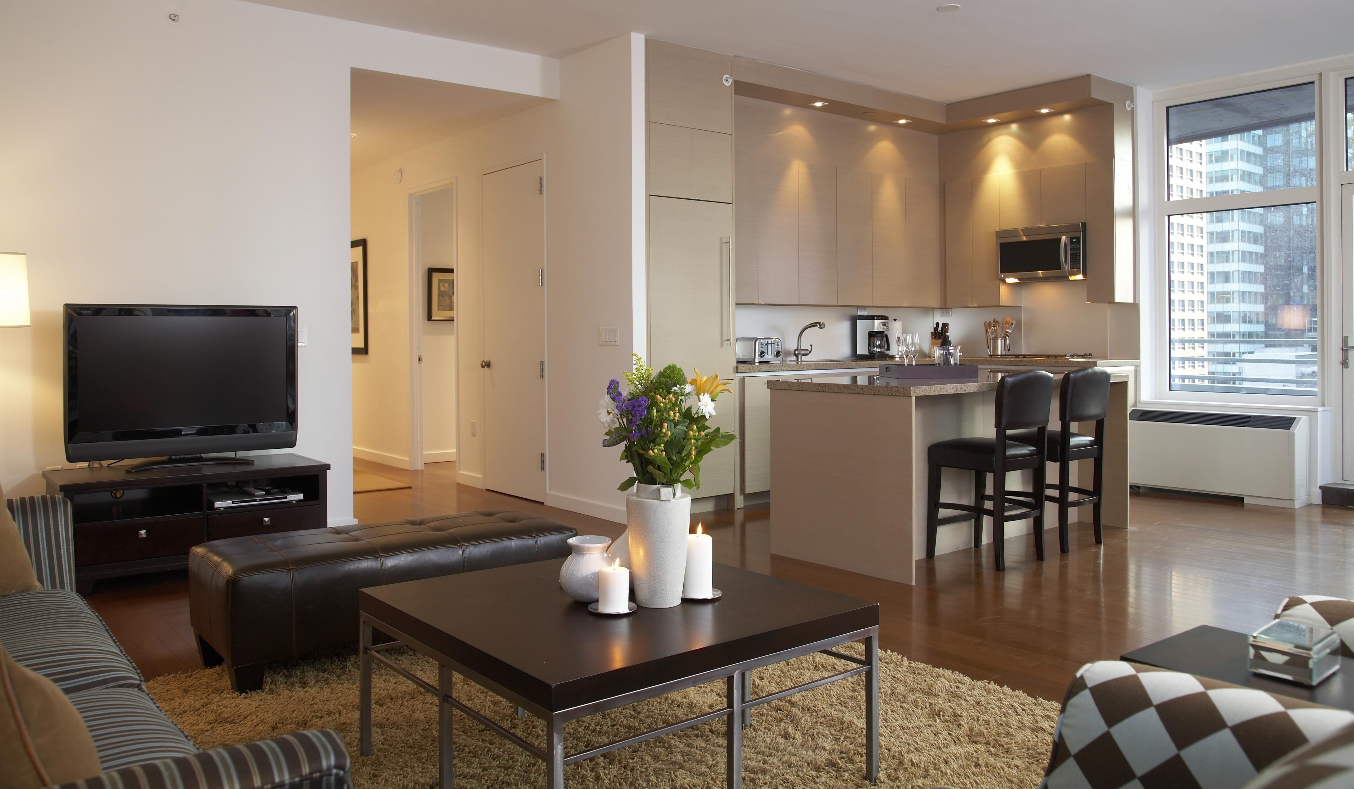 обои для кухни студии и зала интерьер качестве элементов
