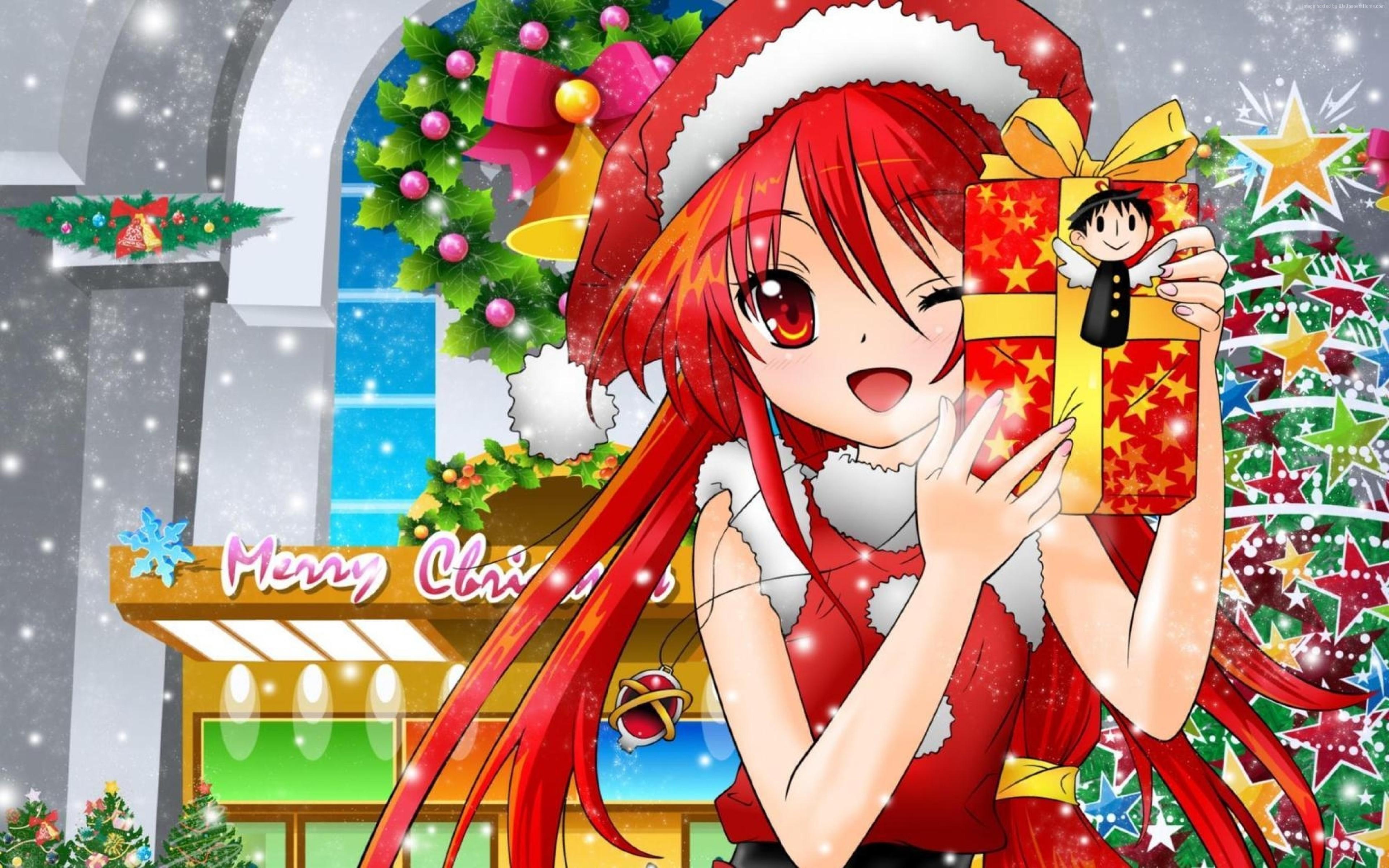 Отправить поздравительную, картинка с новым годом для девочки