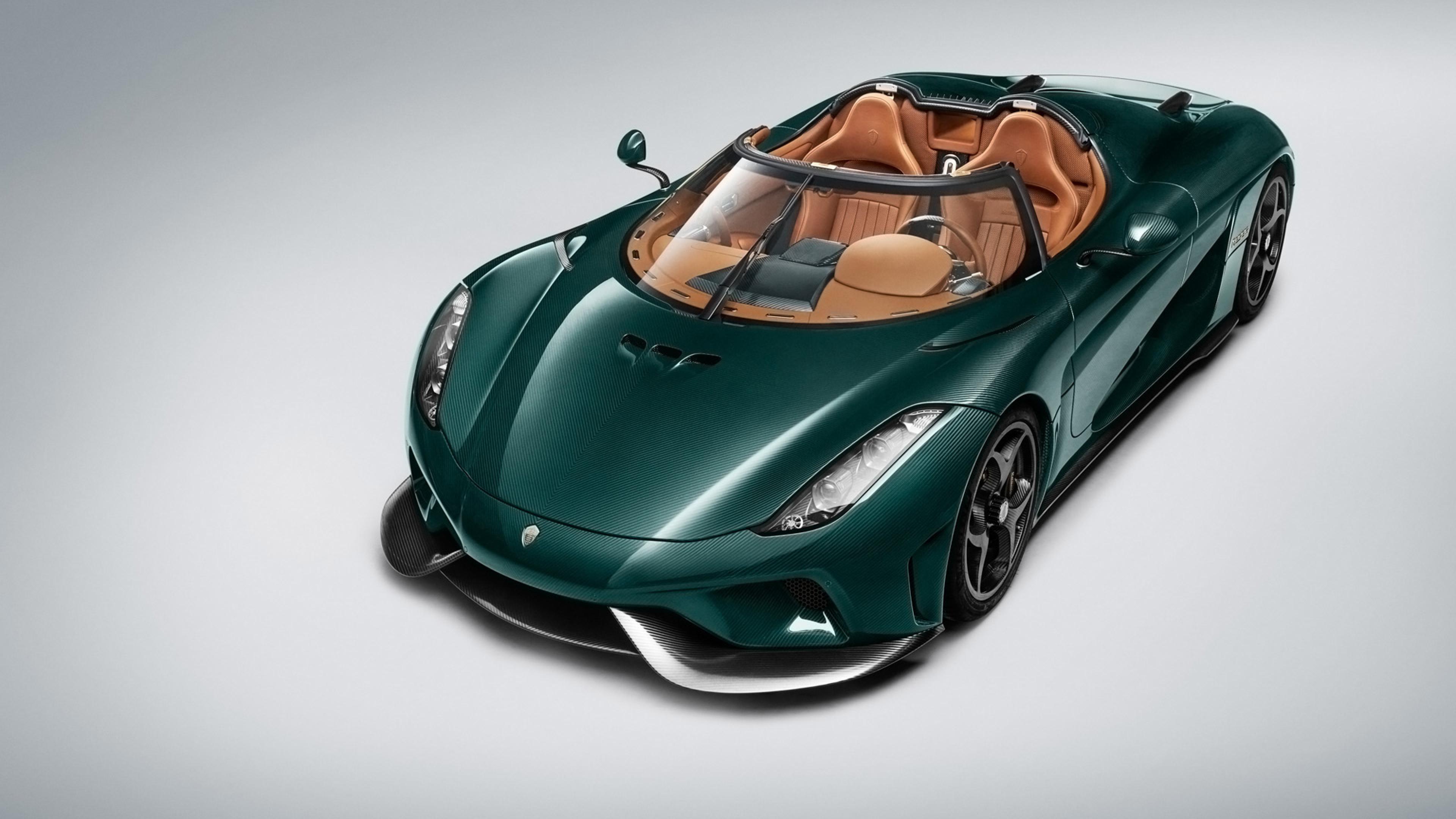 Green Car Convertible Koenigsegg Regera Wallpapers And Images