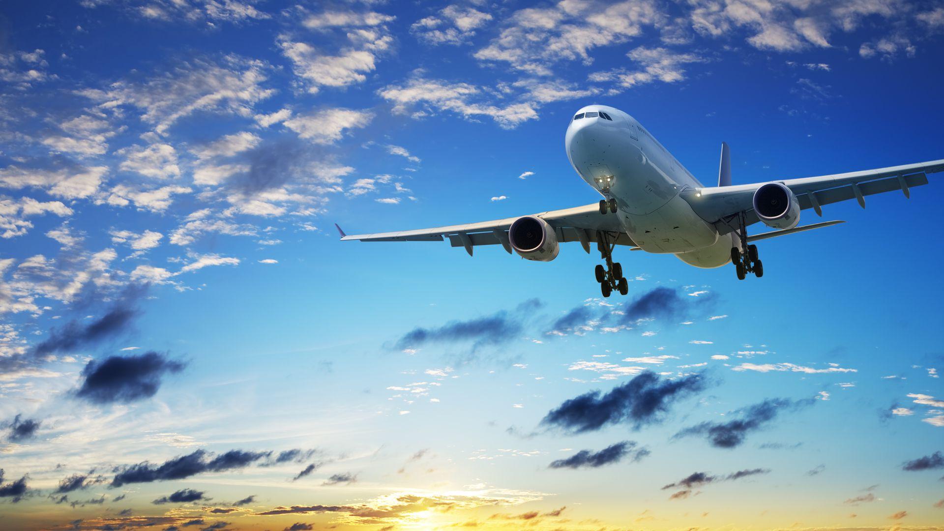 Фоновый рисунок рабочего стола самолеты