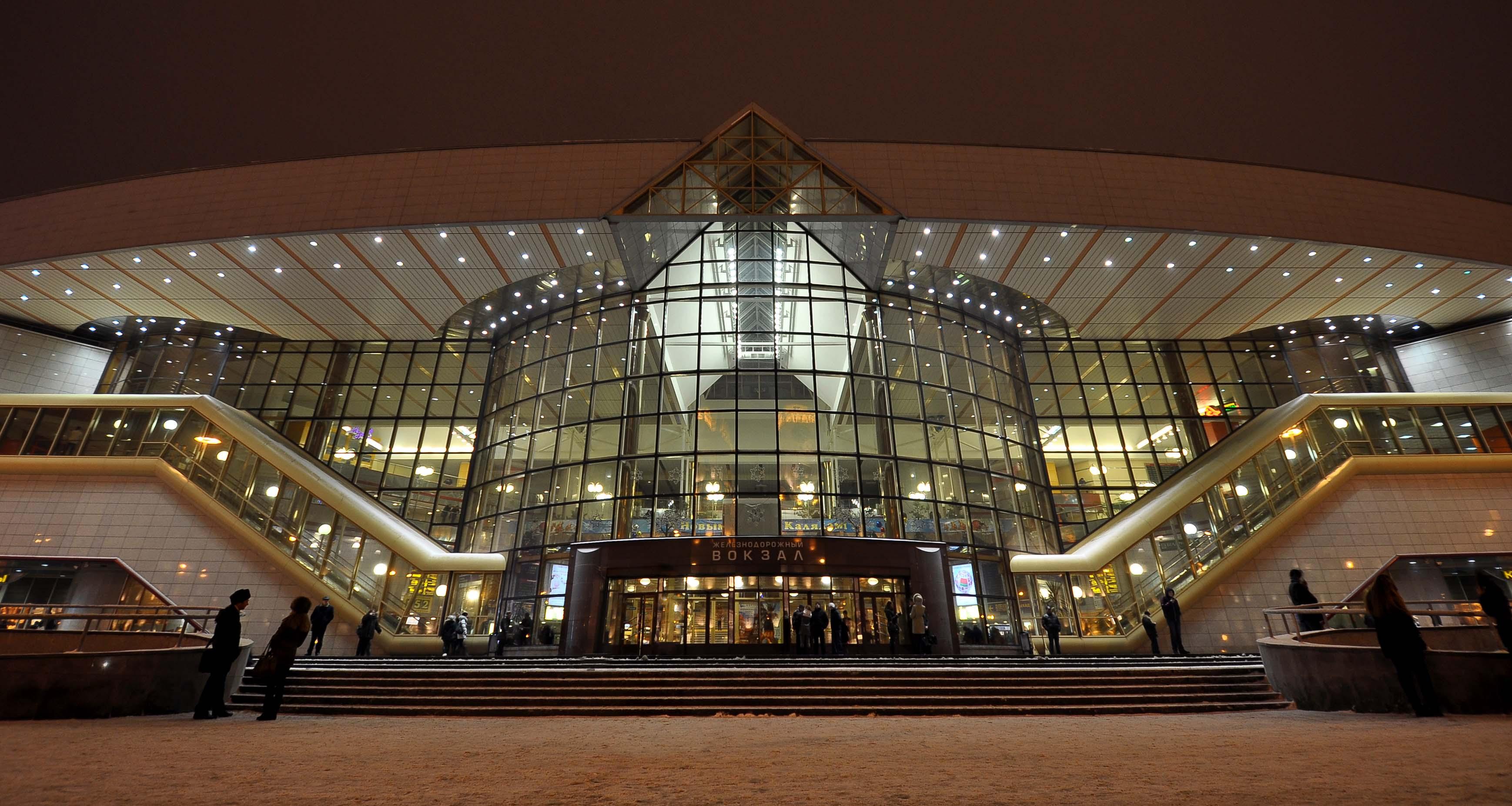 Фото вокзала минск пассажирский