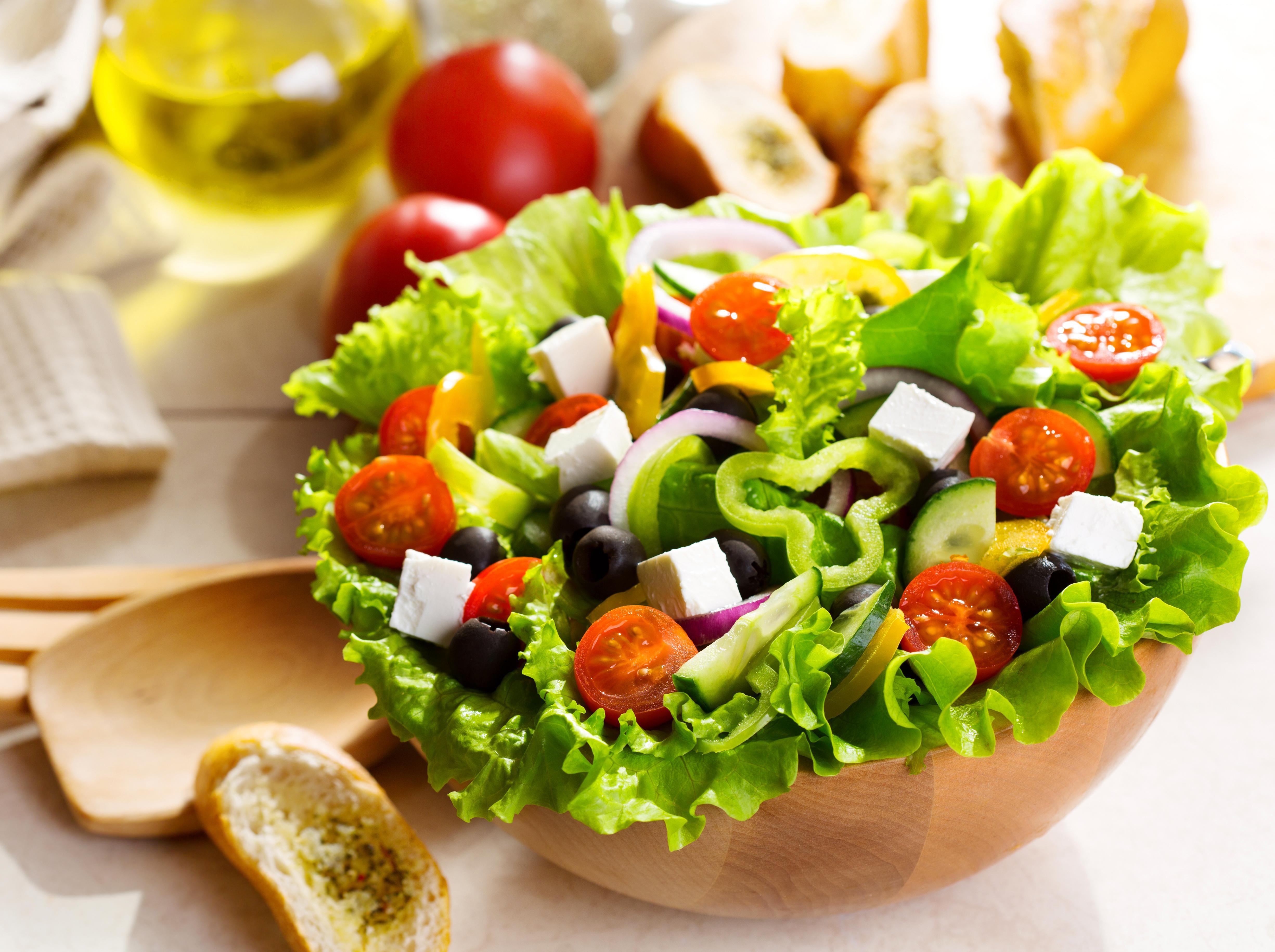 красивые картинки салатами