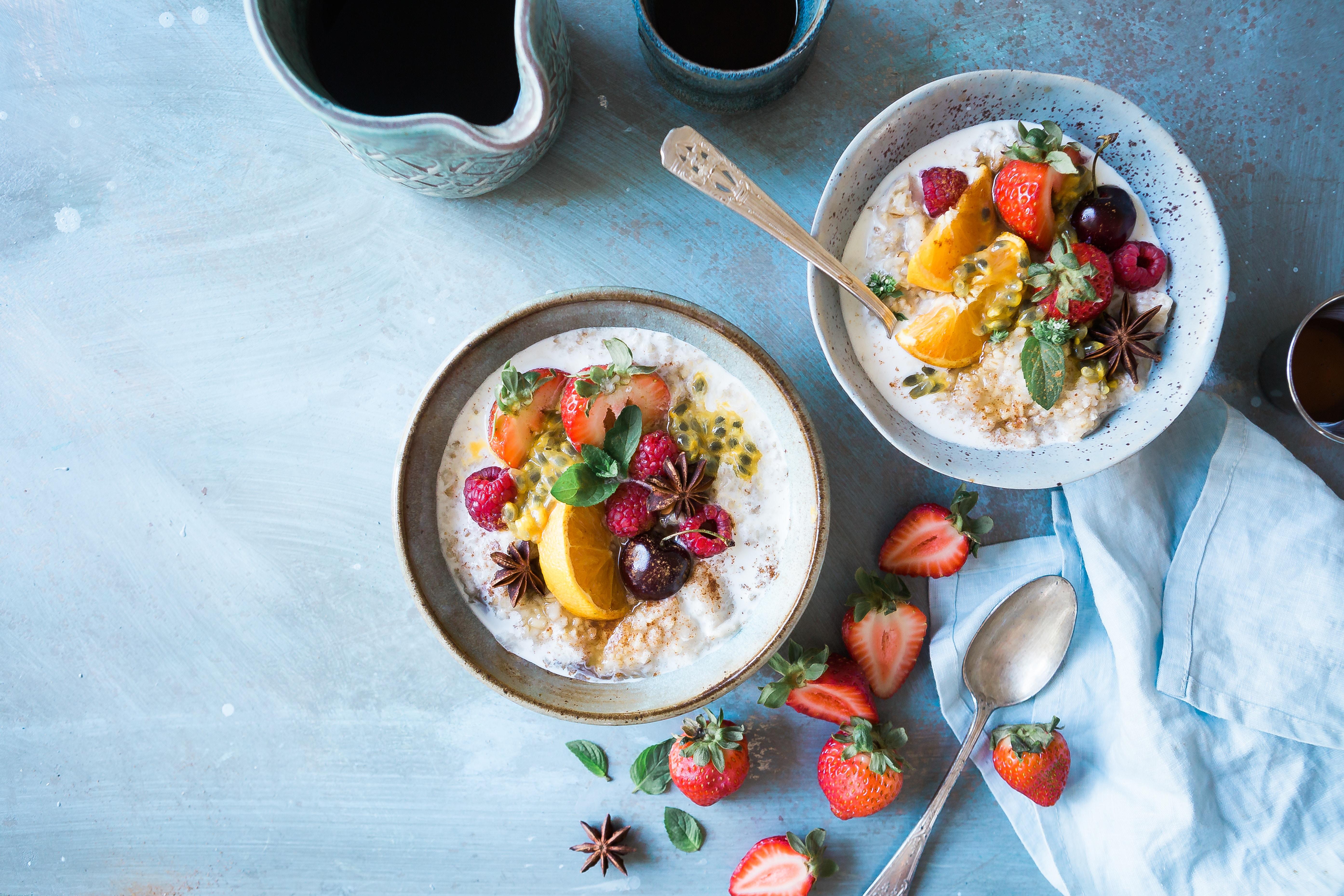 Светлые красивые картинки с фруктами и едой вкусной, надписью мурзик