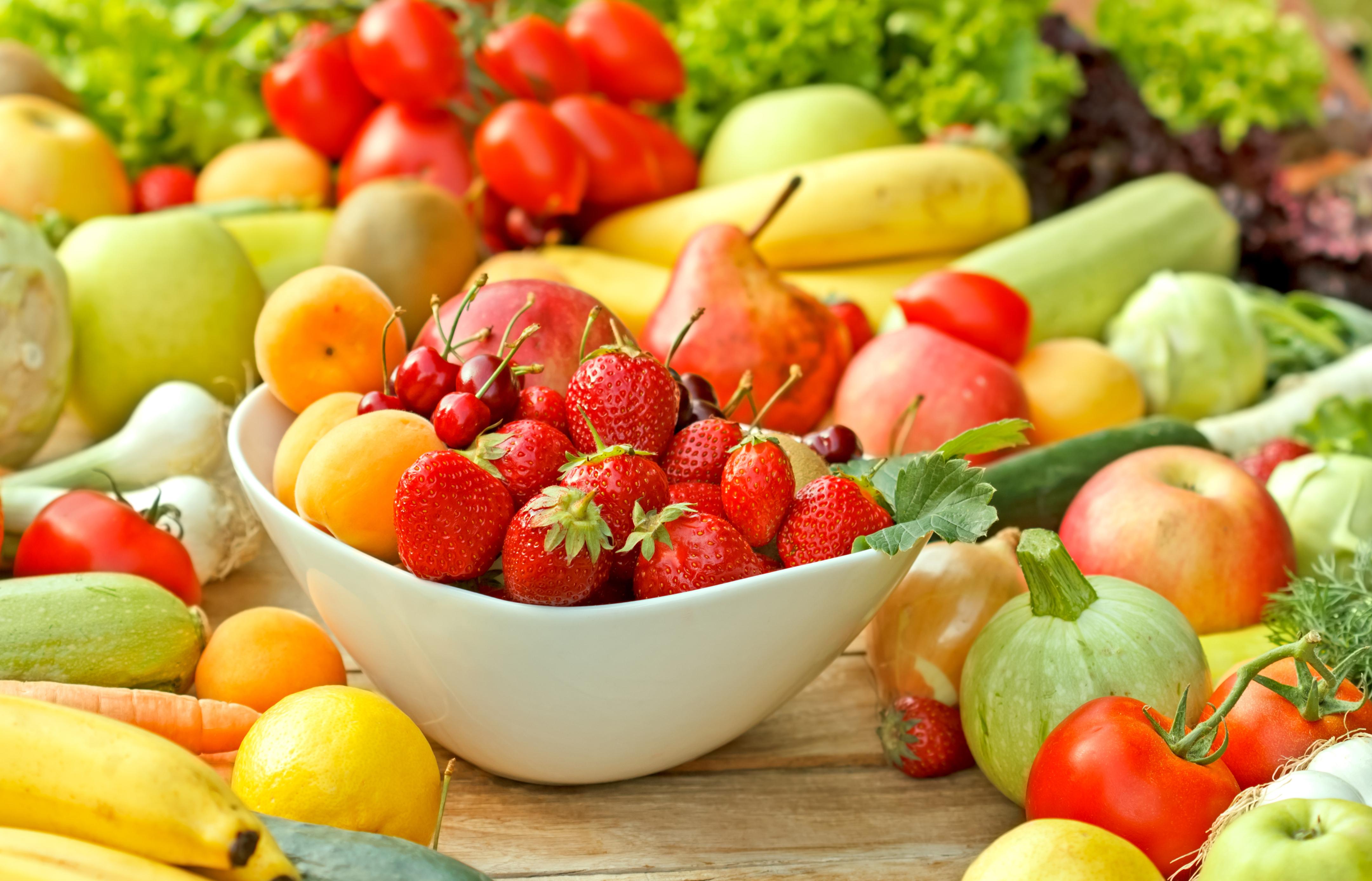 Красивые картинки овощи и фрукты