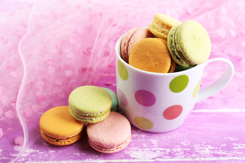 Картинка сладости макароны