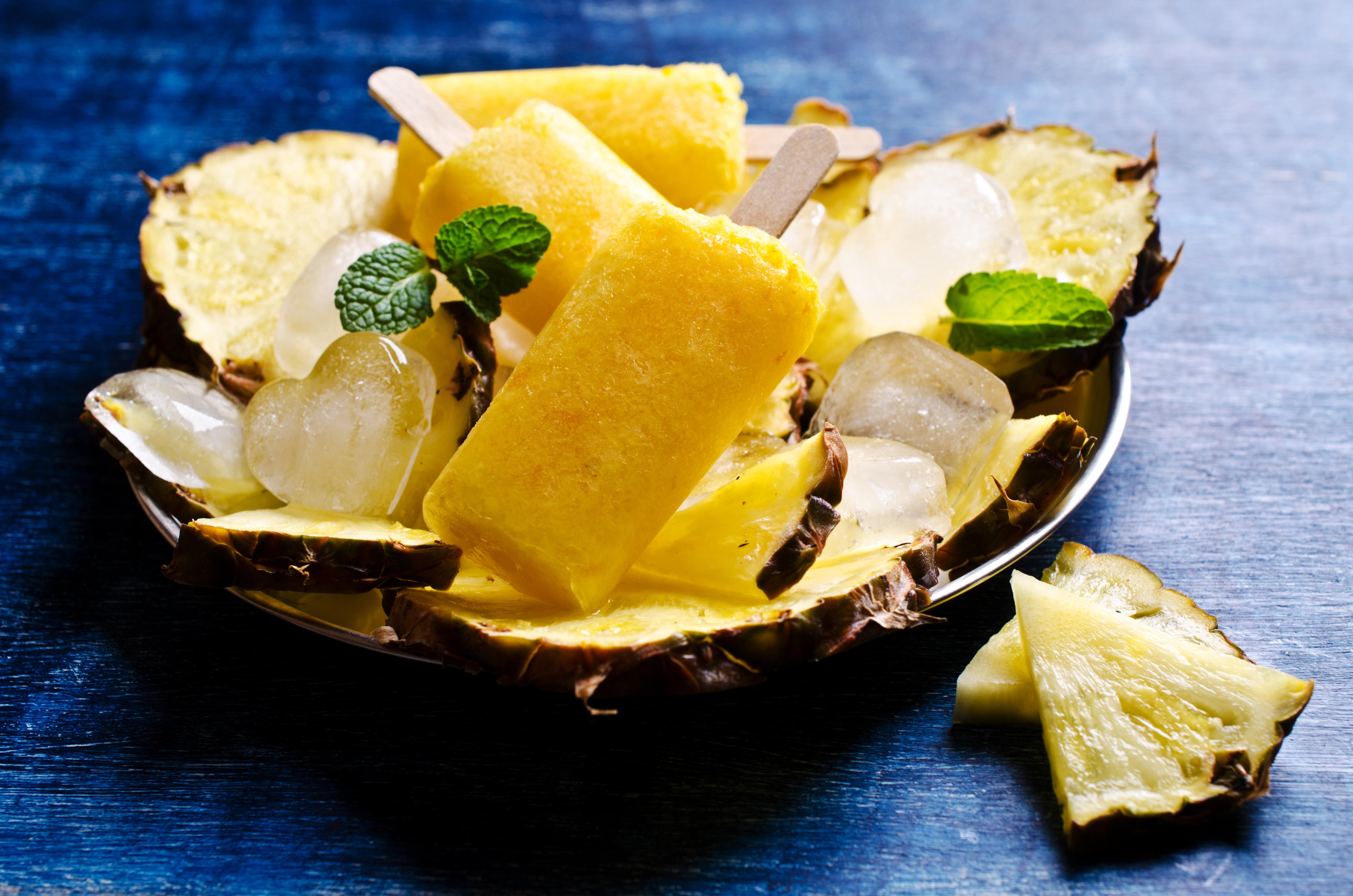 фото тайского десерта со льдом окончания