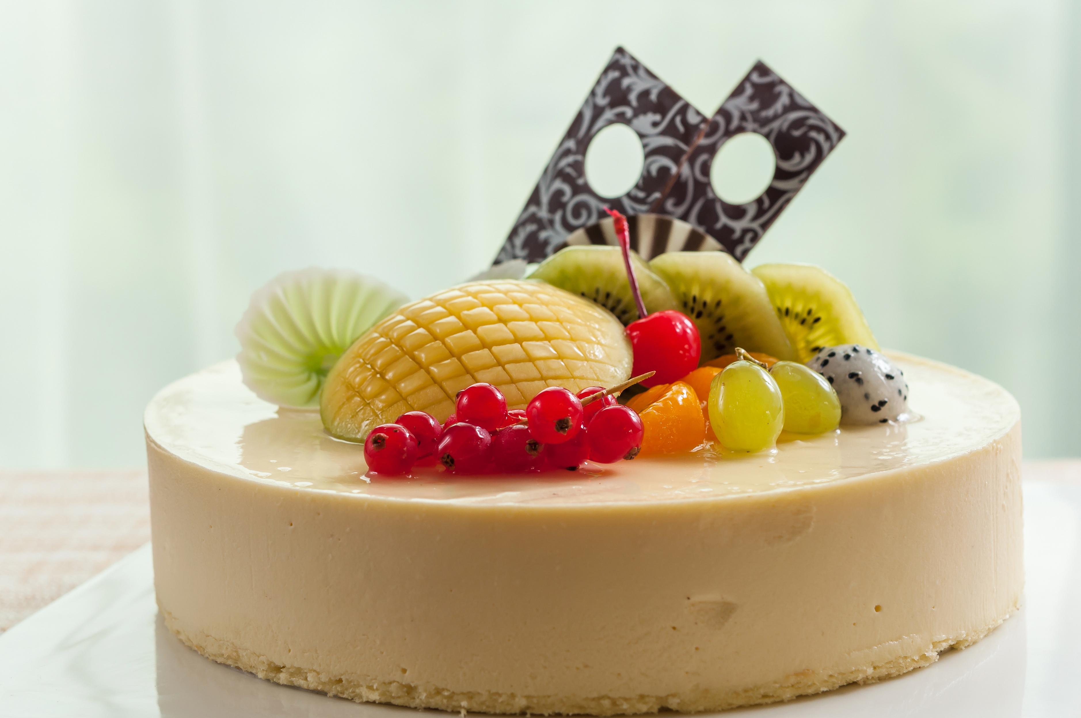 украшение фруктовых тортов с картинками
