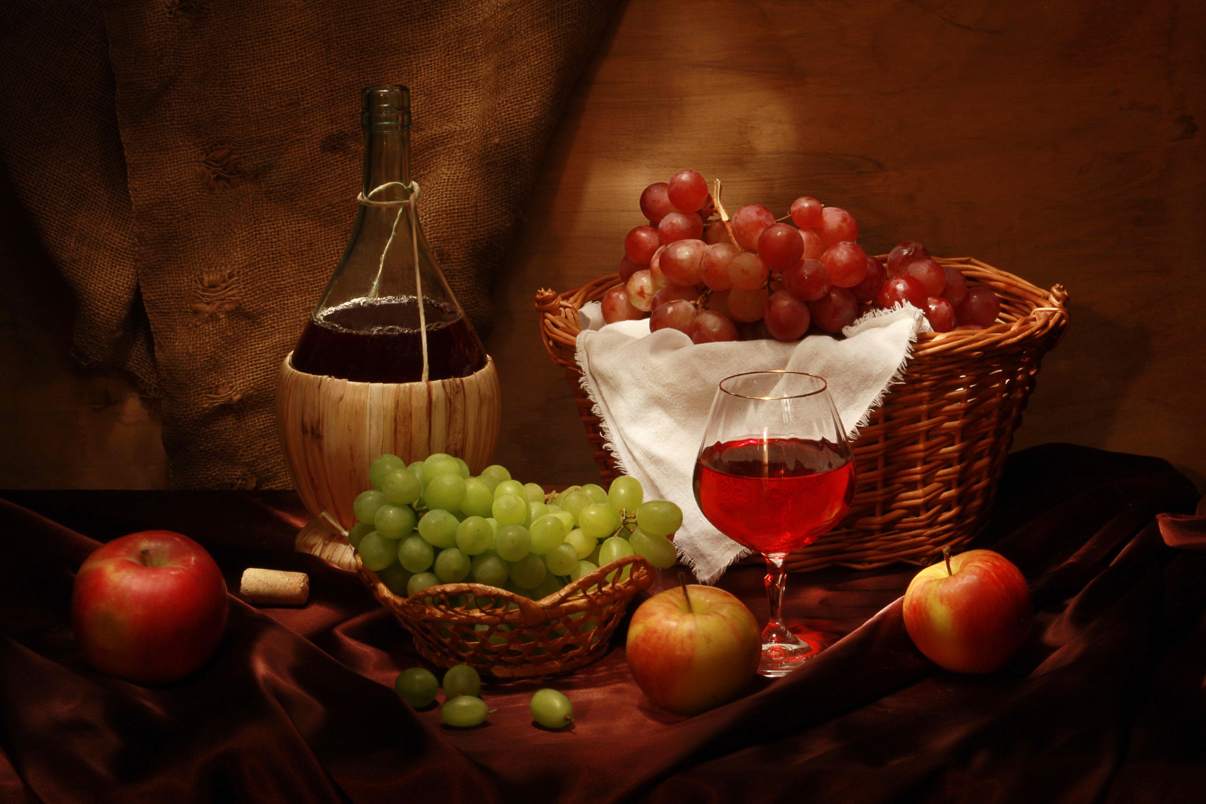 Открытки фрукты и вино реконструкцию