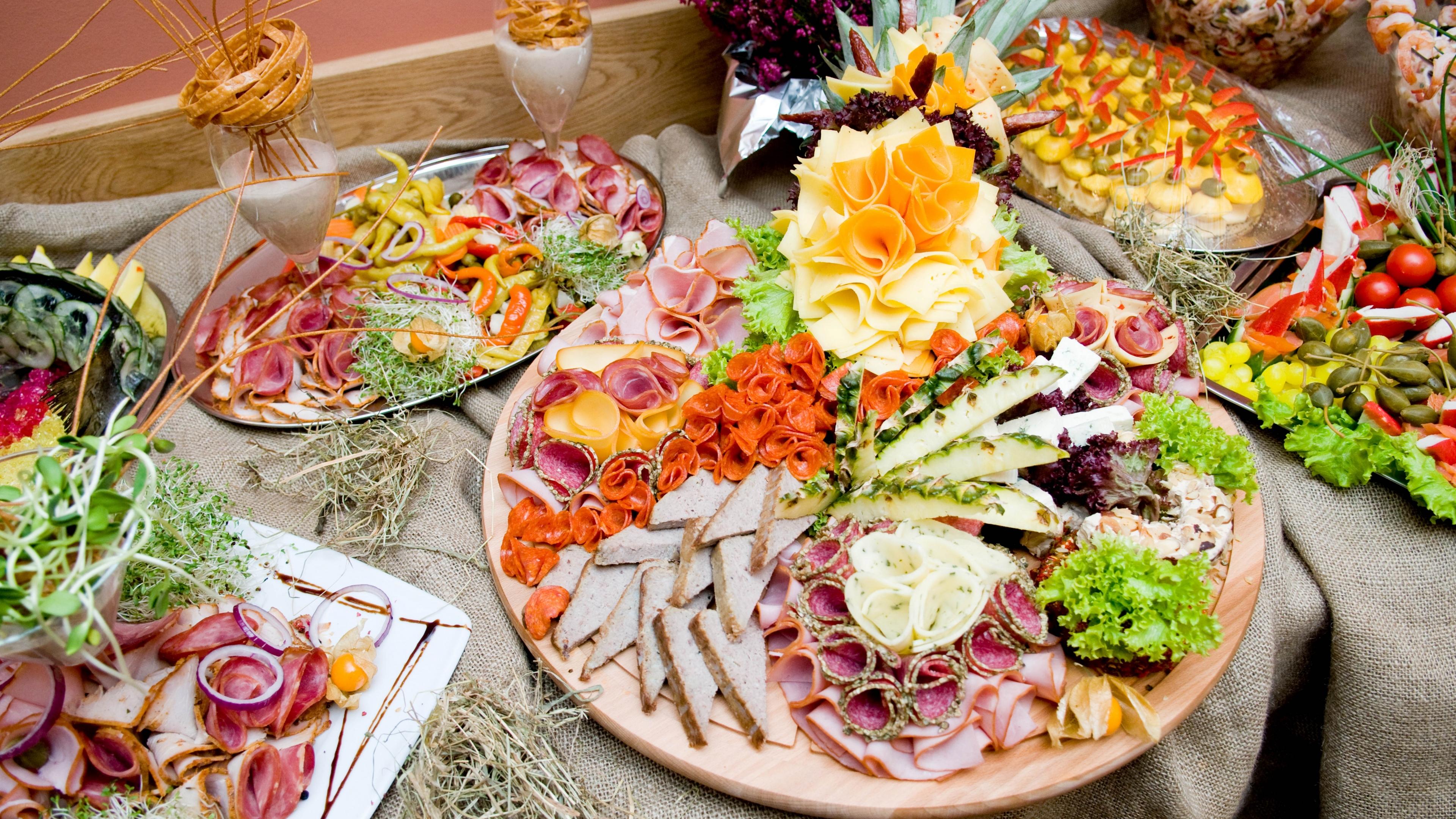 Красивый праздничный стол фото с рецептами